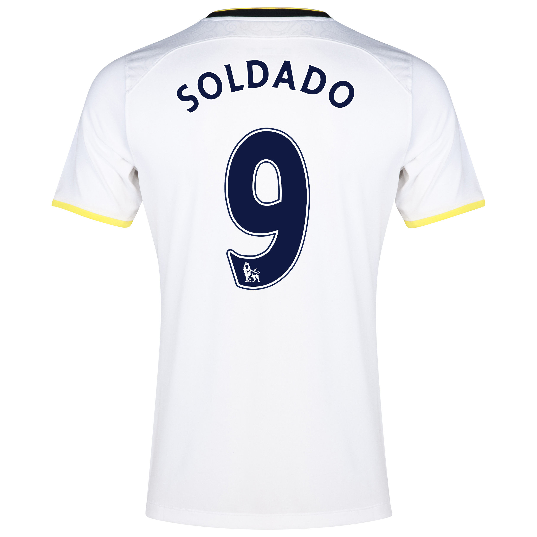 Tottenham Hotspur Home Shirt 2014/15 - Kids with Soldado 9 printing