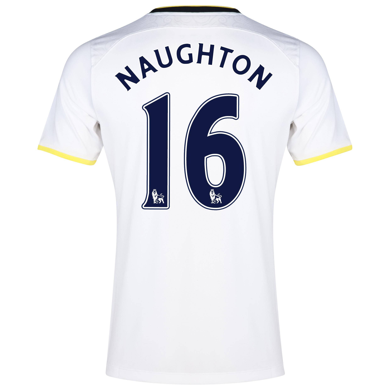Tottenham Hotspur Home Shirt 2014/15 - Kids with Naughton 16 printing