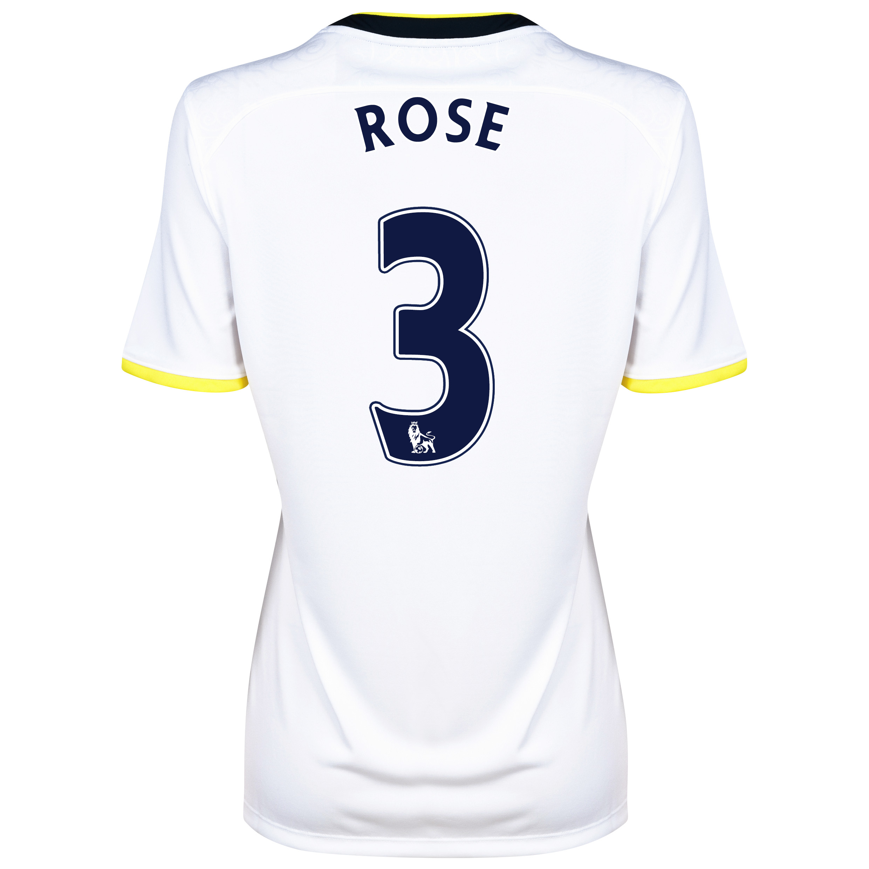 Tottenham Hotspur Home Shirt 2014/15 - Womens with Rose 3 printing