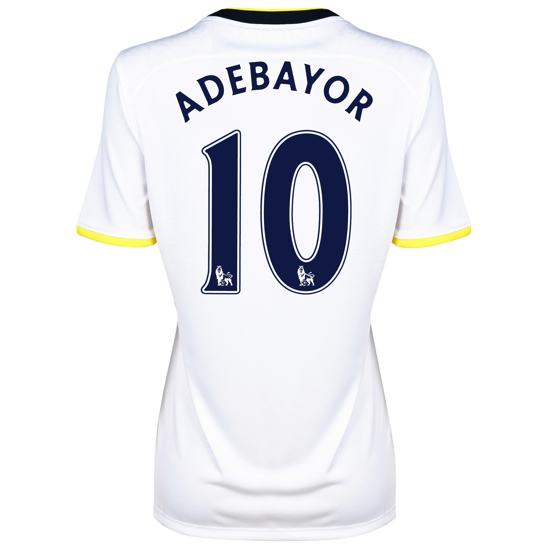 Tottenham Hotspur Home Shirt 2014/15 - Womens with Adebayor 10 printing