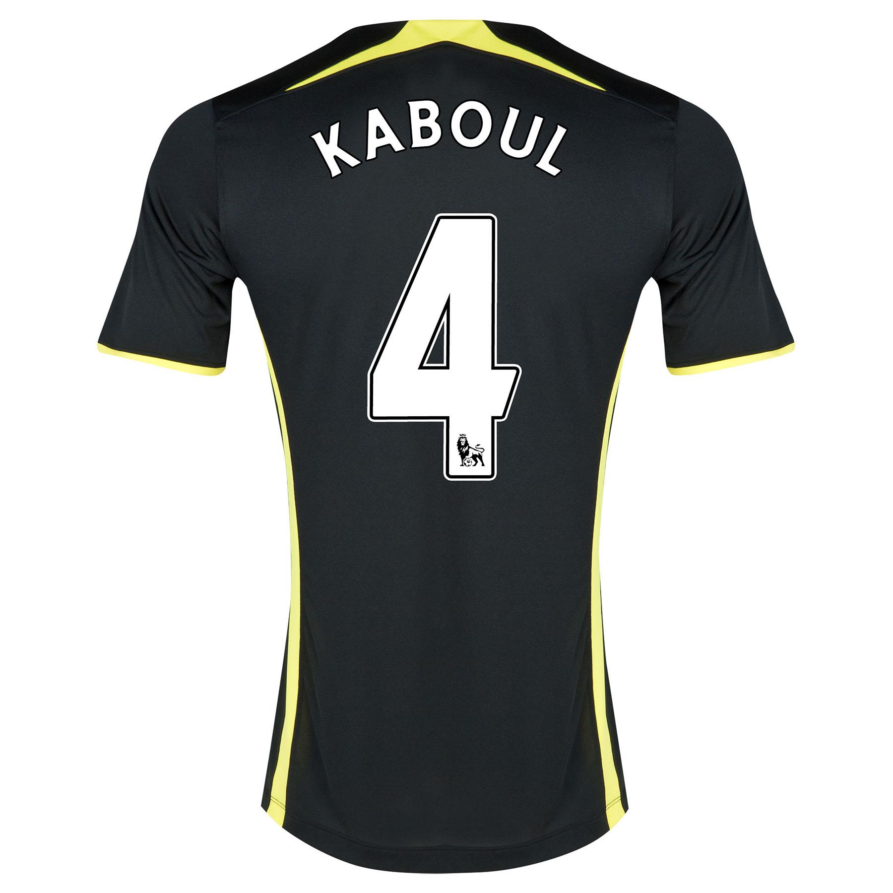 Tottenham Hotspur Away Shirt 2014/15 - Kids with Kaboul 4 printing