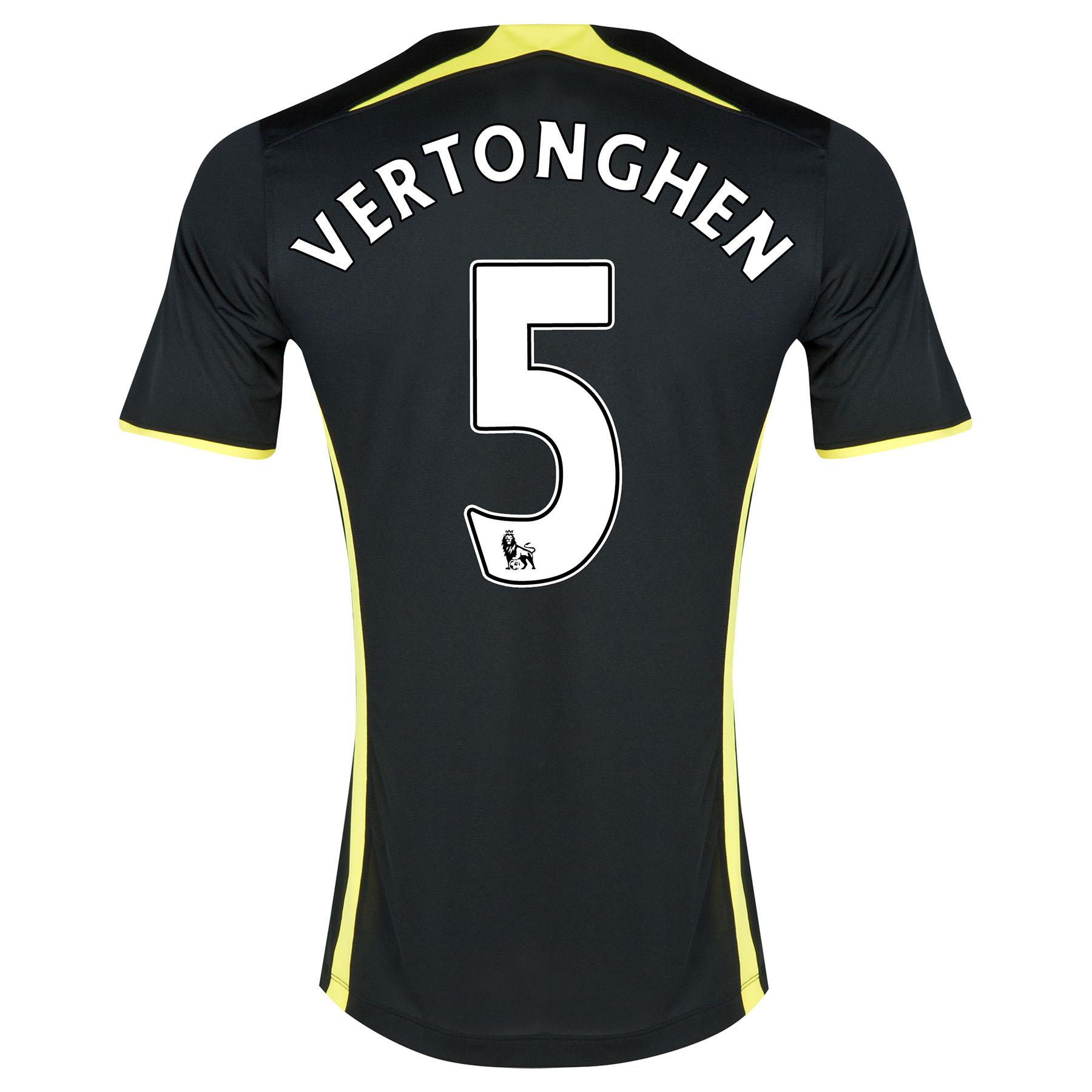 Tottenham Hotspur Away Shirt 2014/15 - Kids with Vertonghen 5 printing