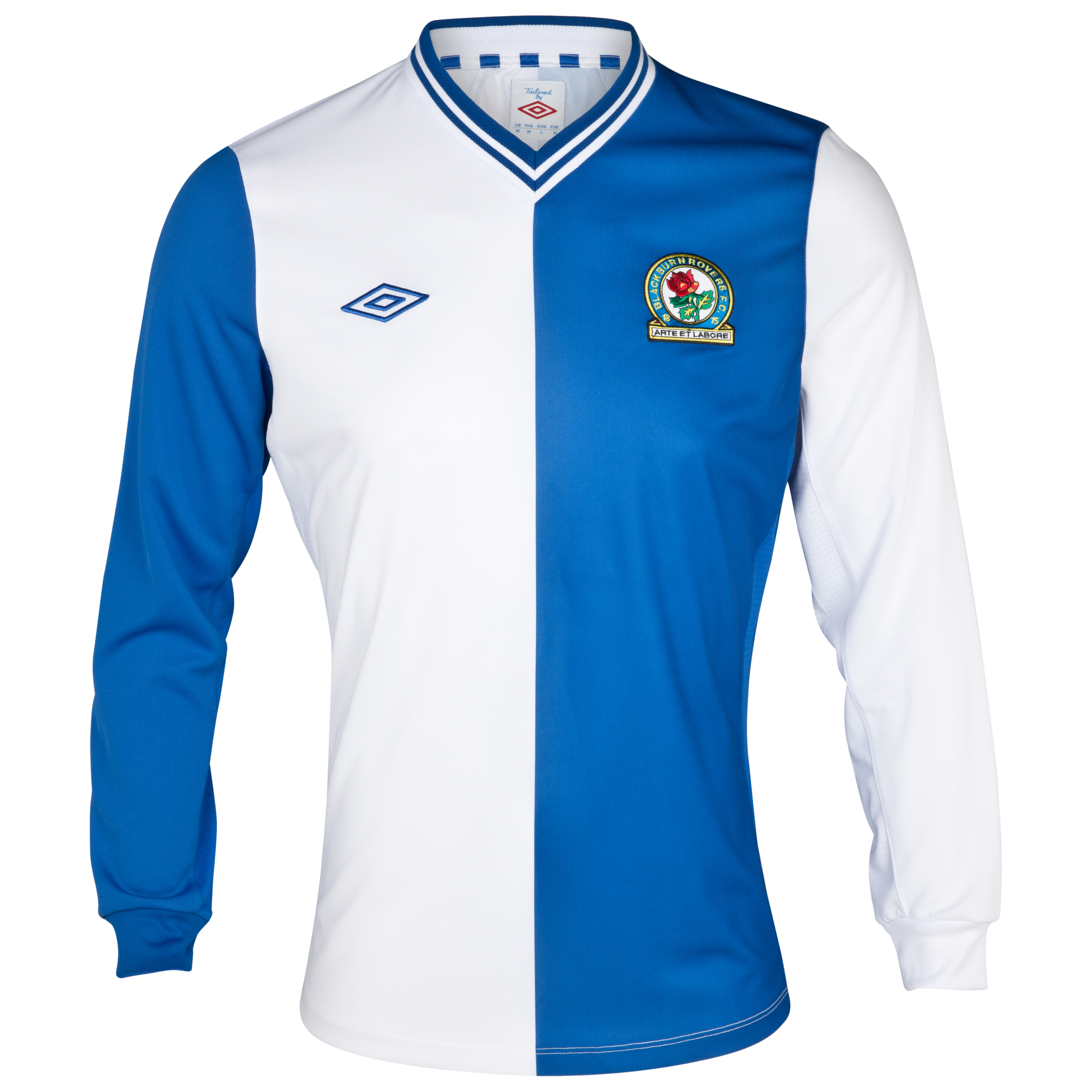 Blackburn Rovers Home Shirt 2012/13 Long Sleeve