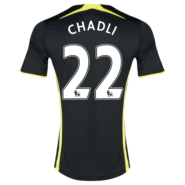 Tottenham Hotspur Away Shirt 2014/15 - Kids with Chadli 21 printing