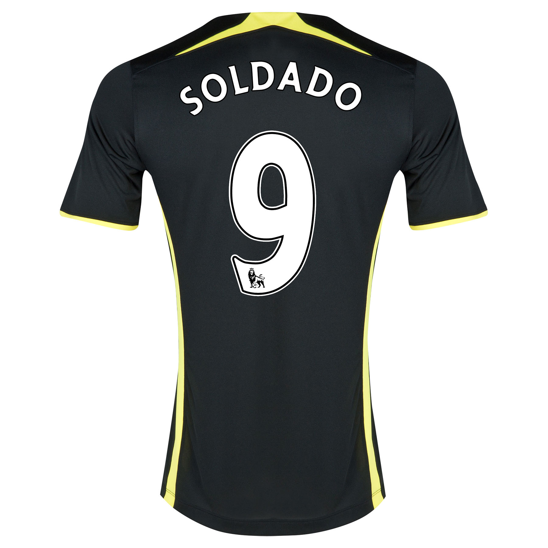 Tottenham Hotspur Away Shirt 2014/15 - Womens with Soldado 9 printing