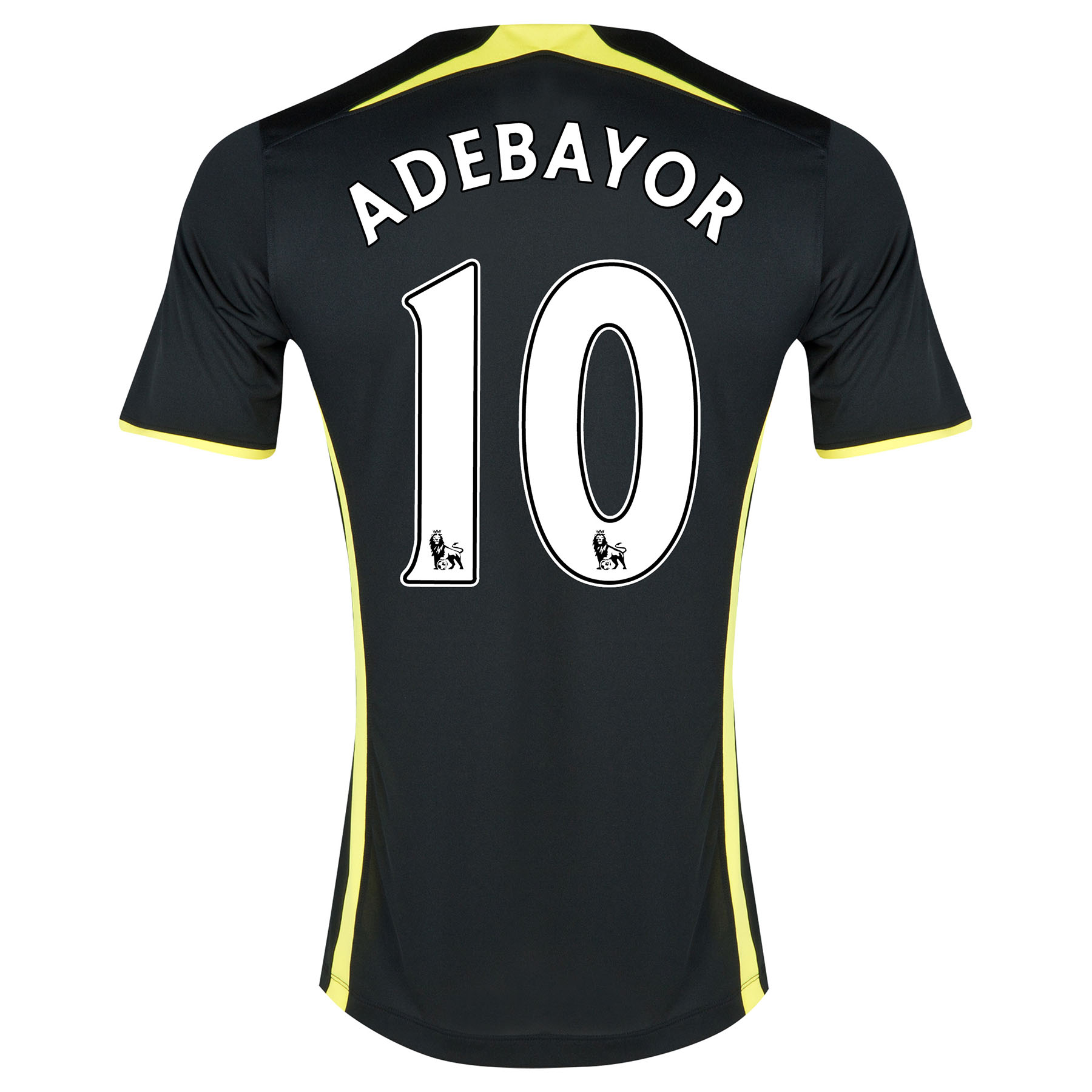 Tottenham Hotspur Away Shirt 2014/15 - Womens with Adebayor 10 printing