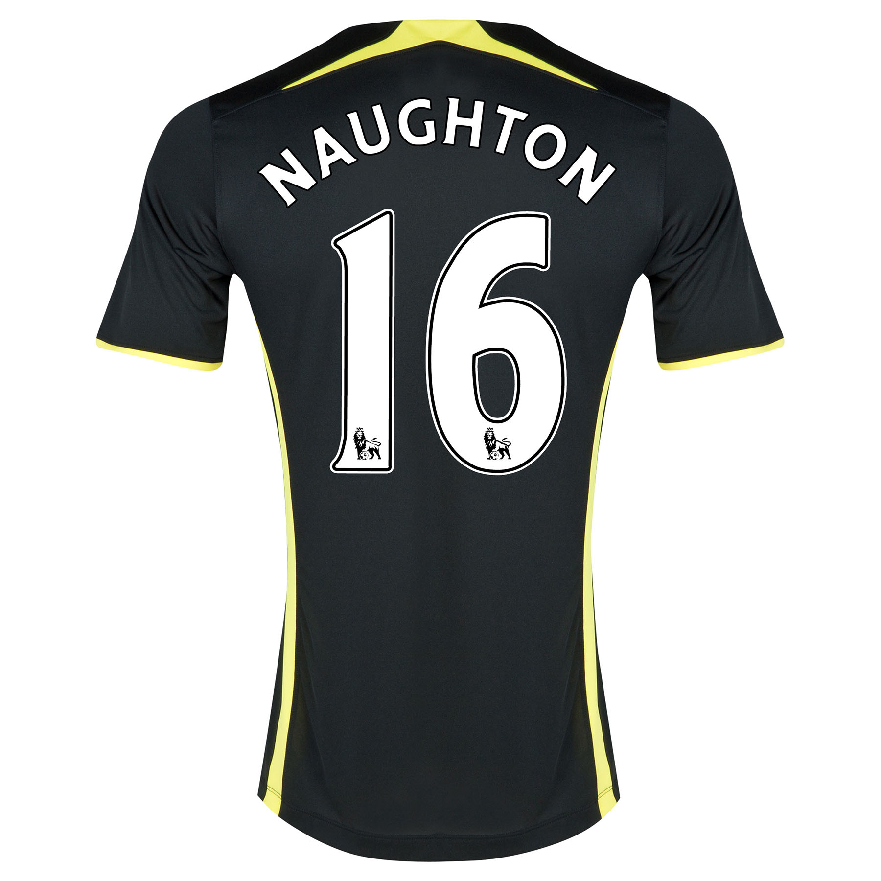 Tottenham Hotspur Away Shirt 2014/15 - Womens with Naughton 16 printing