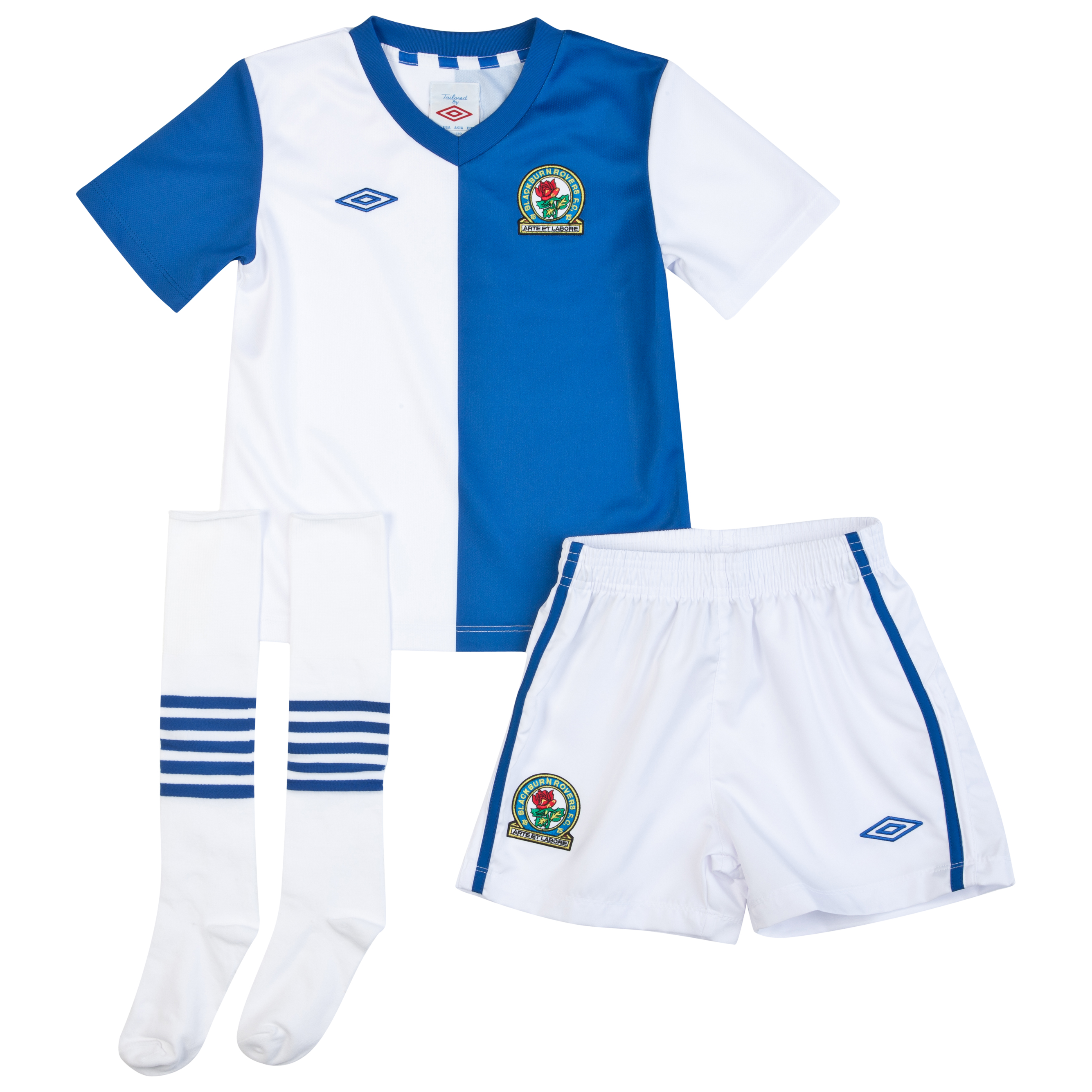 Blackburn Rovers Home Infant Kit 2012/13