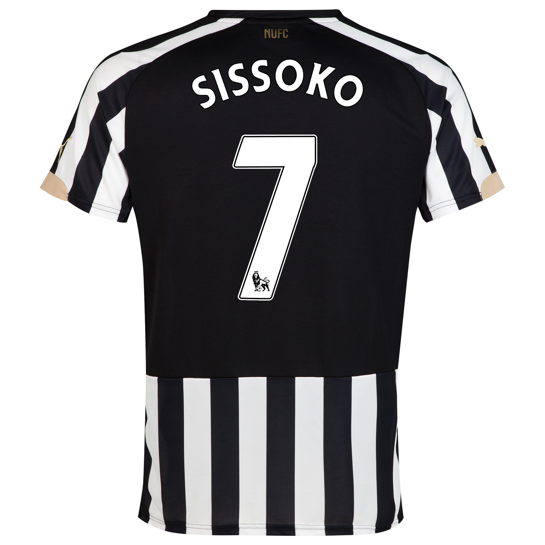 Newcastle United Home Shirt 2014/15 with Sissoko 7 printing