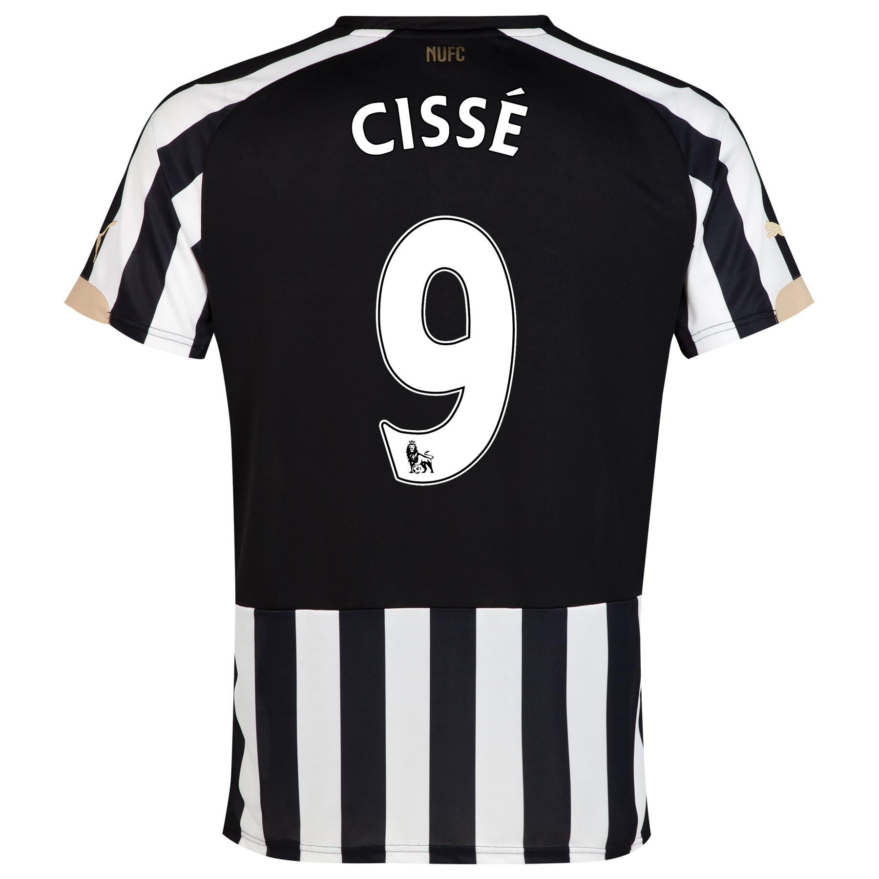 Newcastle United Home Shirt 2014/15 with Cissè 9 printing