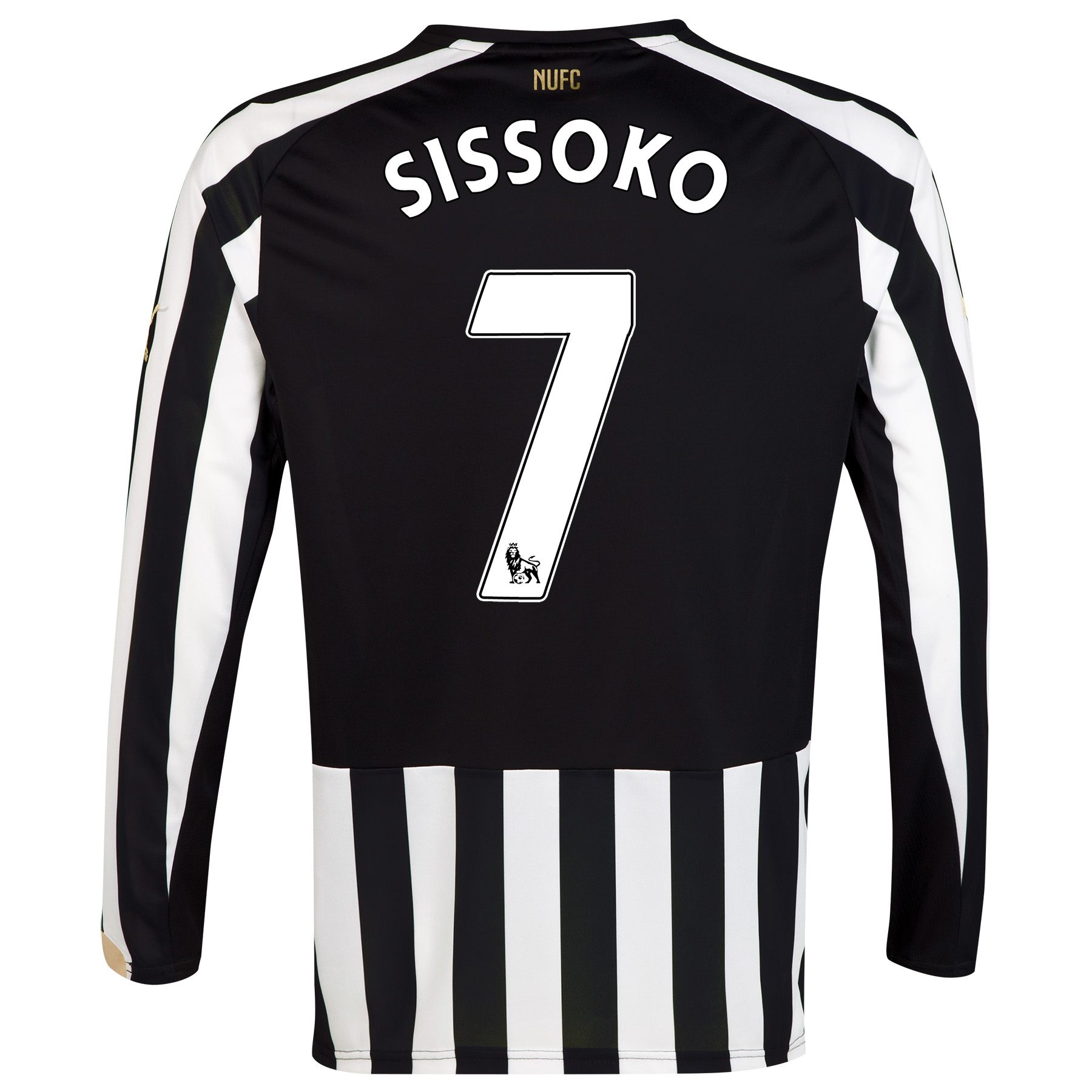 Newcastle United Home Shirt 2014/15 Long Sleeve with Sissoko 7 printing