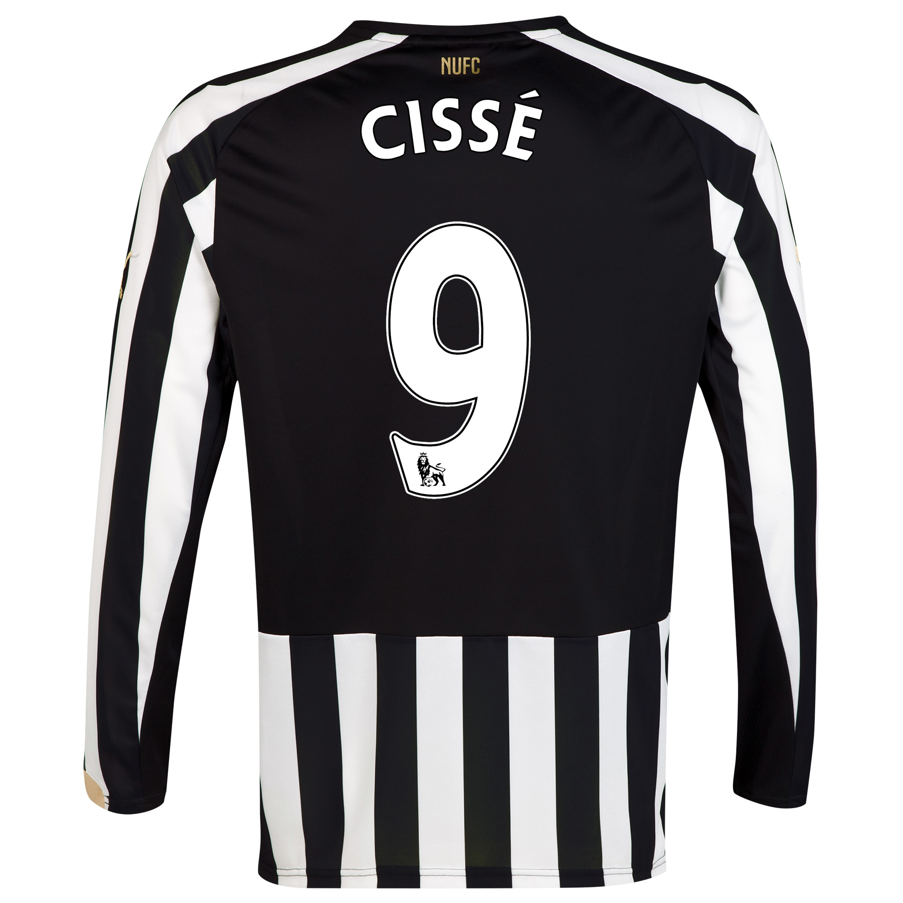 Newcastle United Home Shirt 2014/15 Long Sleeve with Cissè 9 printing