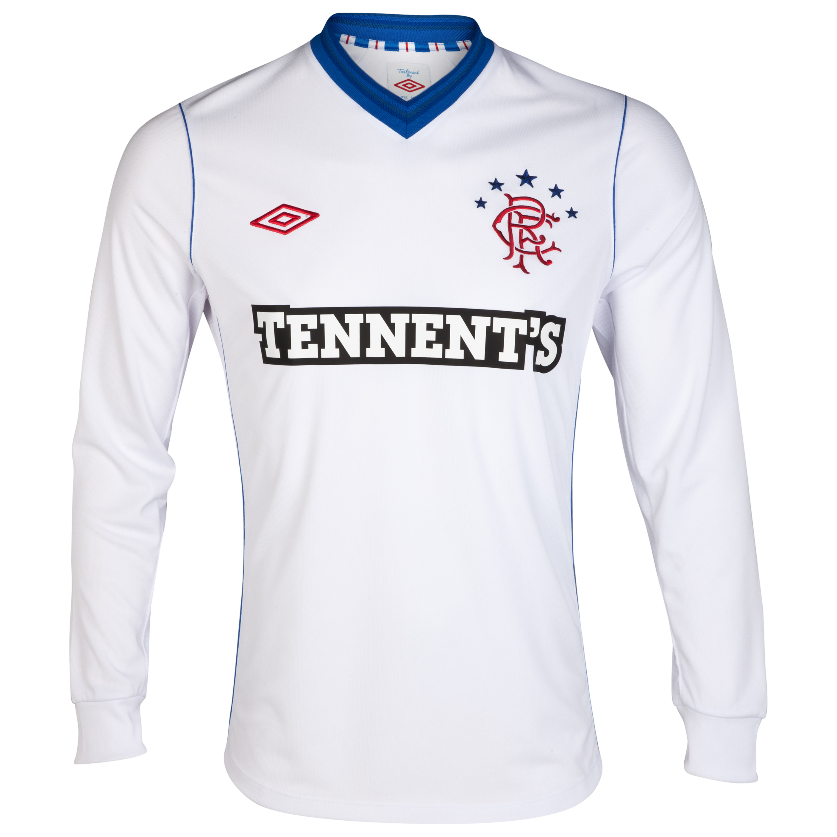 Glasgow Rangers Away Shirt 2012/13 - Long Sleeve