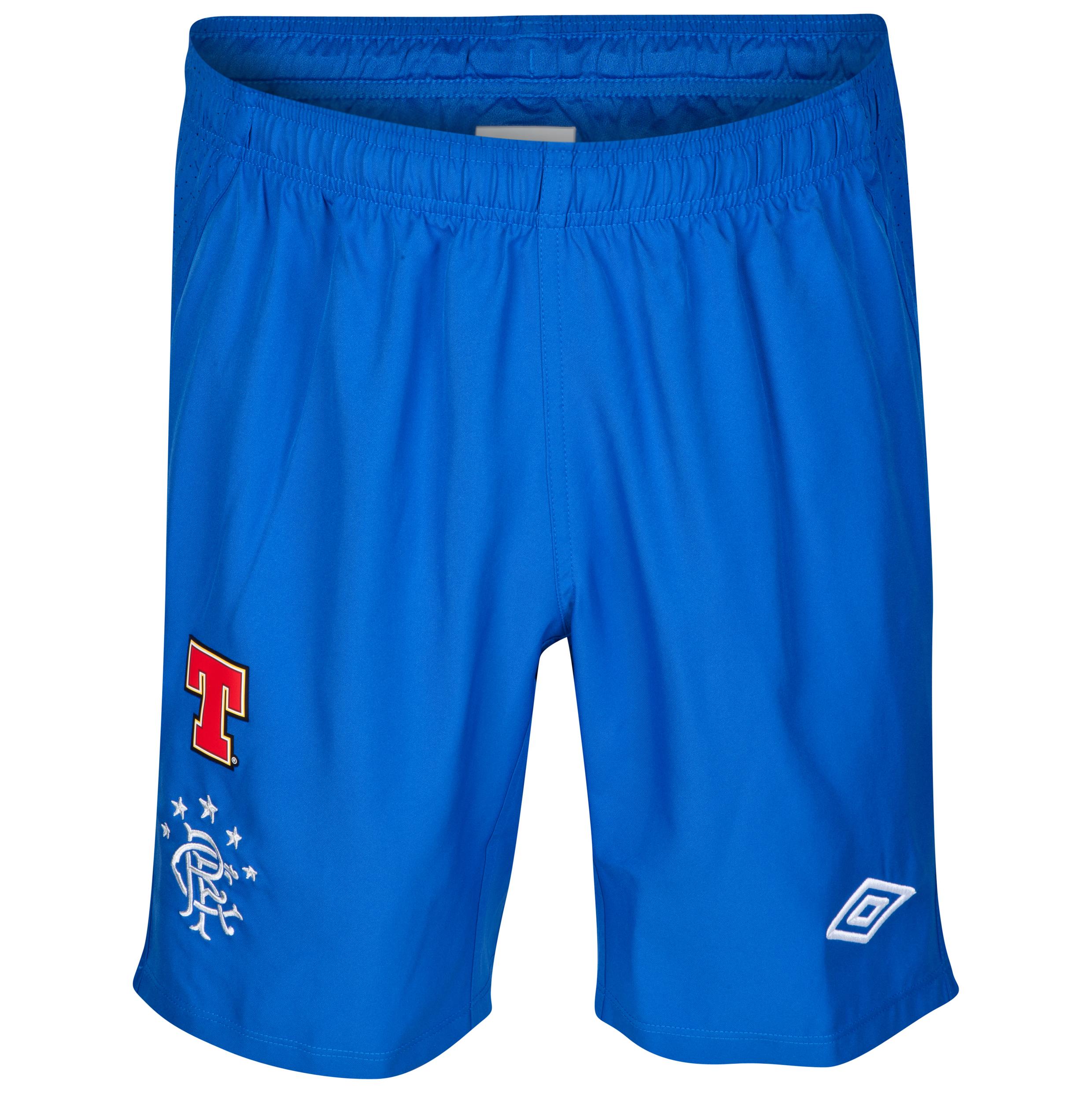 Glasgow Rangers Away Shorts 2012/13 - Kids