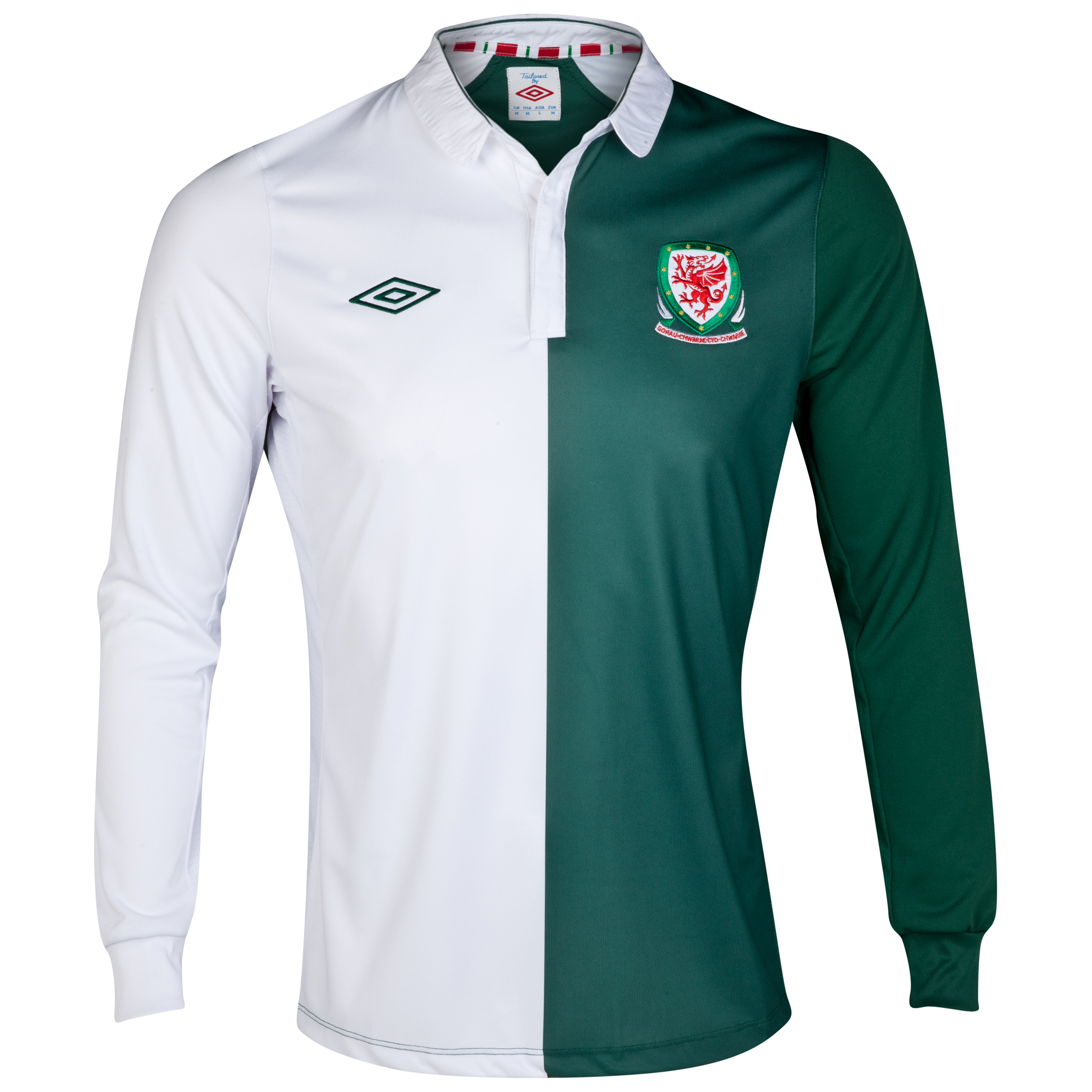 Wales Away Shirt 2012/13 - Long Sleeve