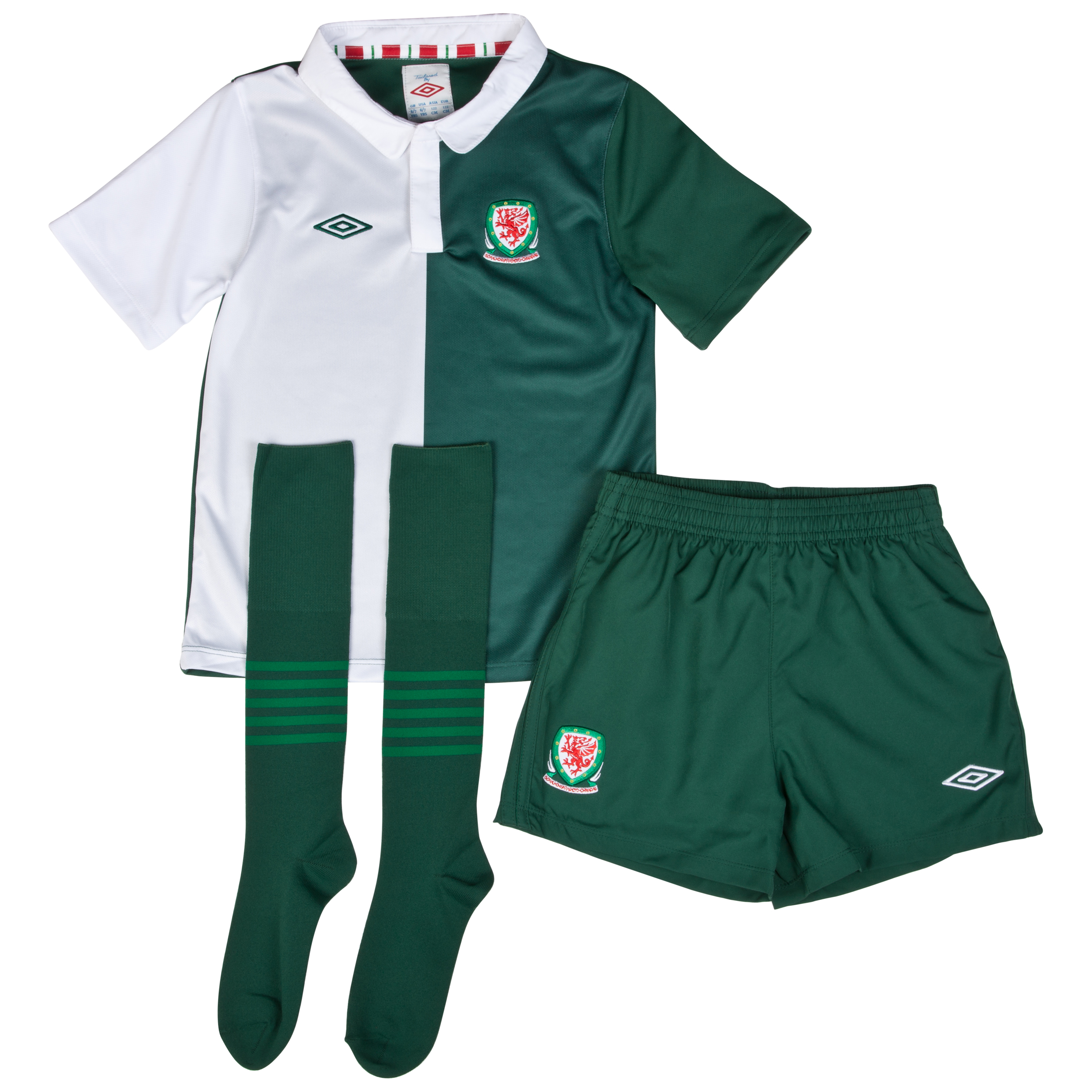 Wales Away Infant Kit 2012/13