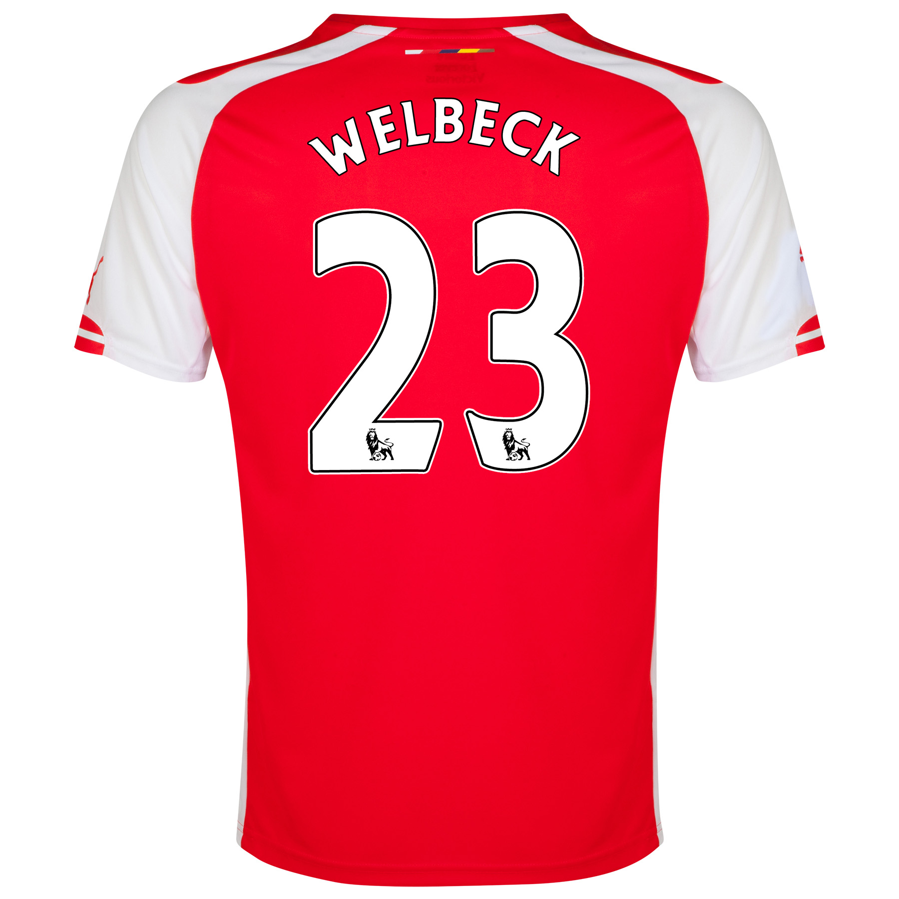 Arsenal Home Shirt 2014/15 - Kids with Welbeck 23 printing