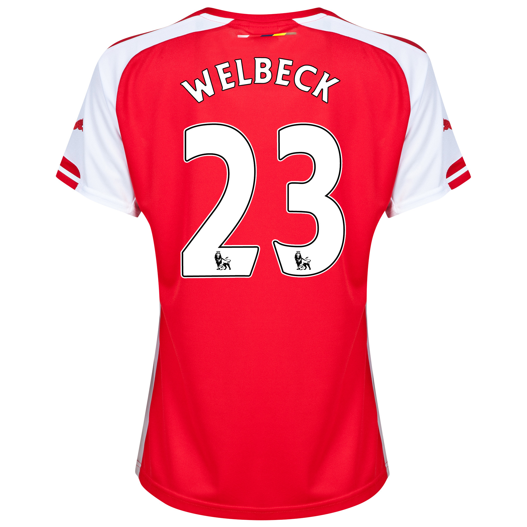Arsenal Home Shirt 2014/15 - Womens with Welbeck 23 printing