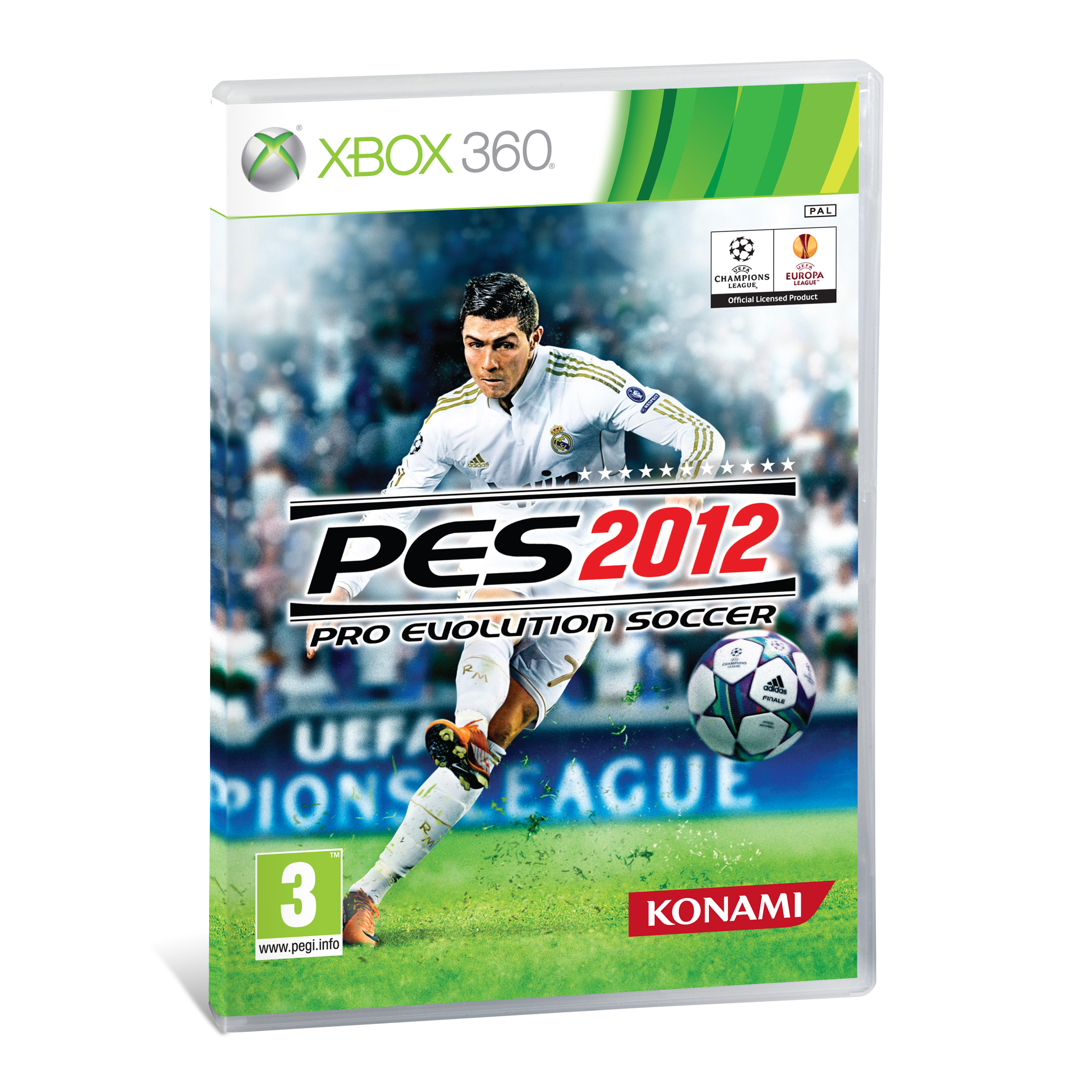 Real Madrid Pro Evolution Soccer 2012