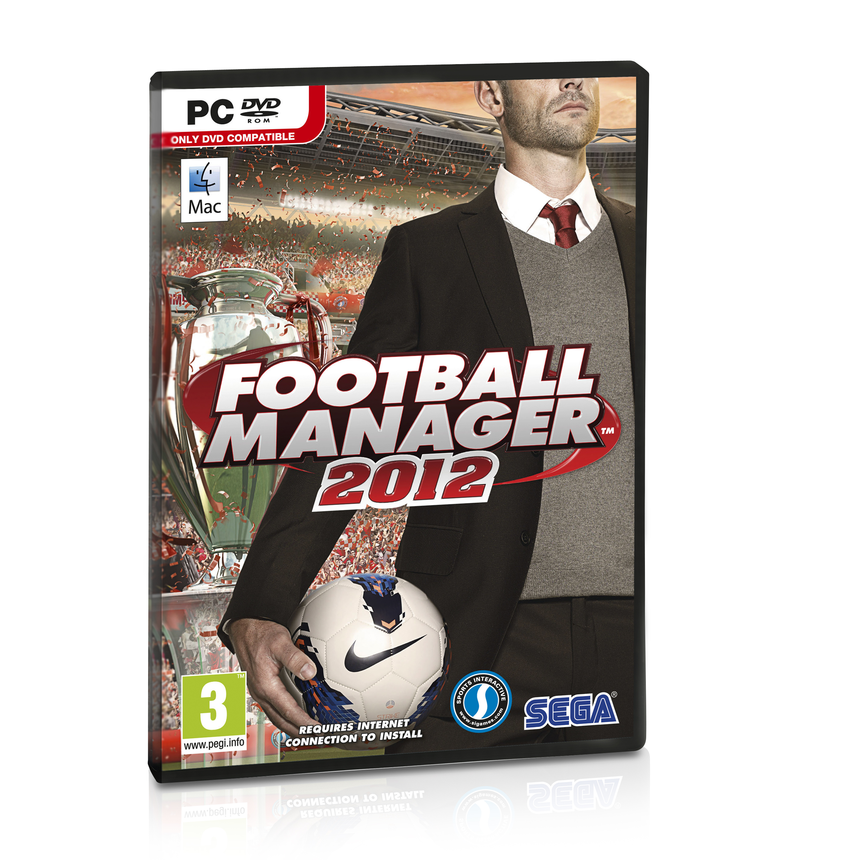 Image of . Football Manager 2012, White