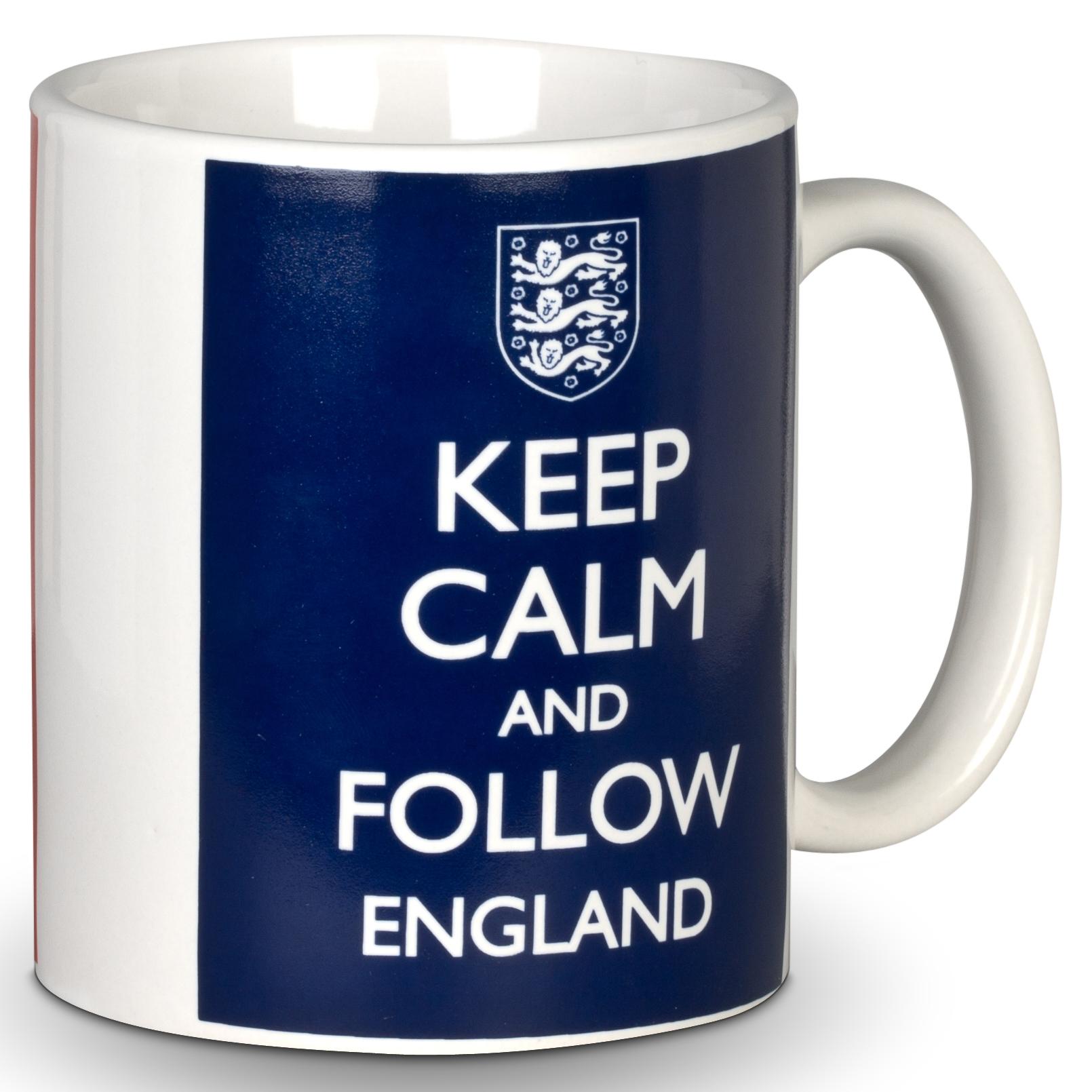 England FA Keep Calm Mug