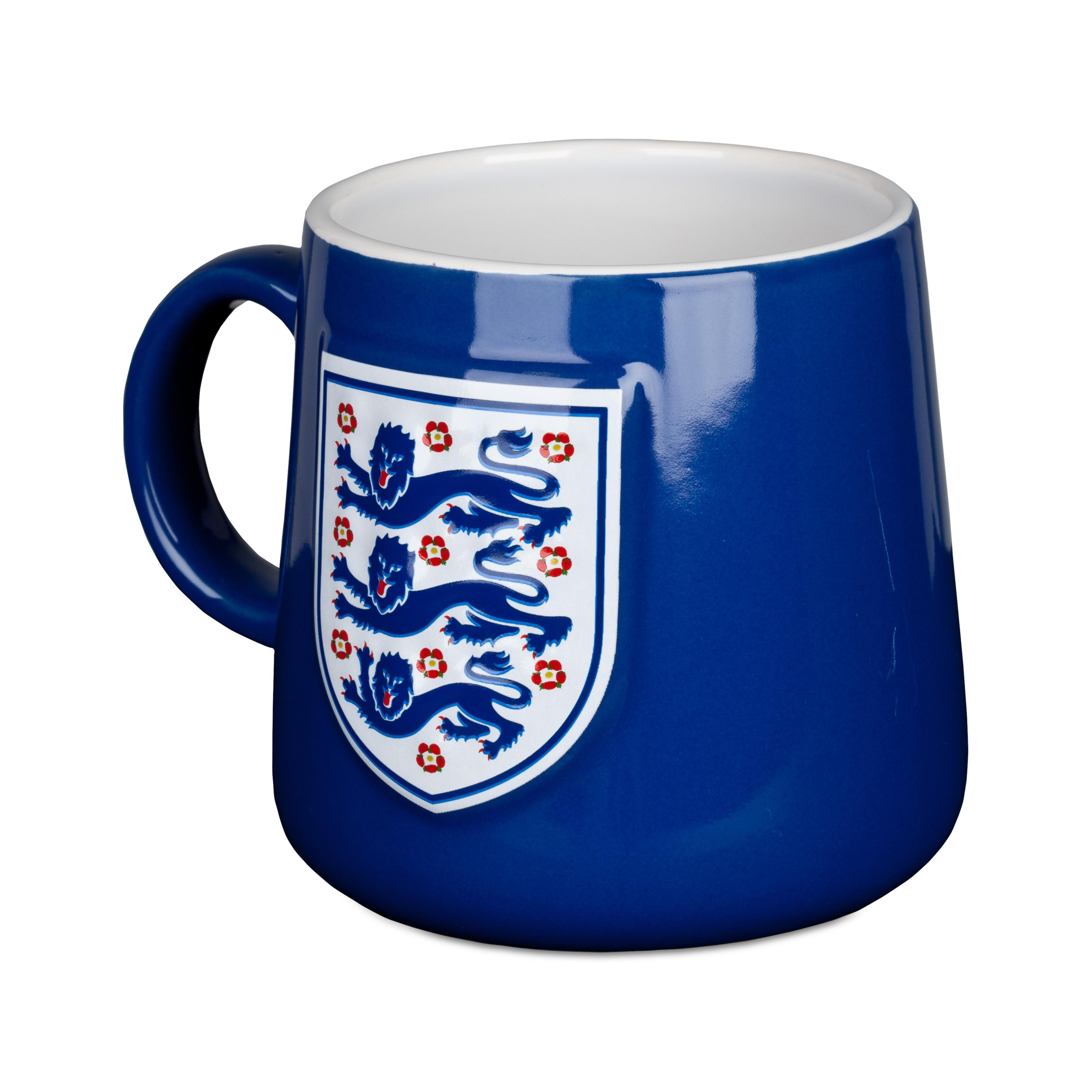 England FA Bulge Mug - Blue
