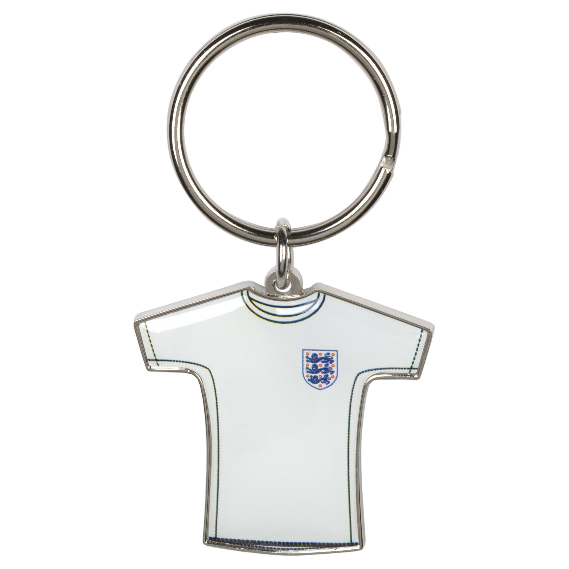 England FA Home Shirt Key Ring