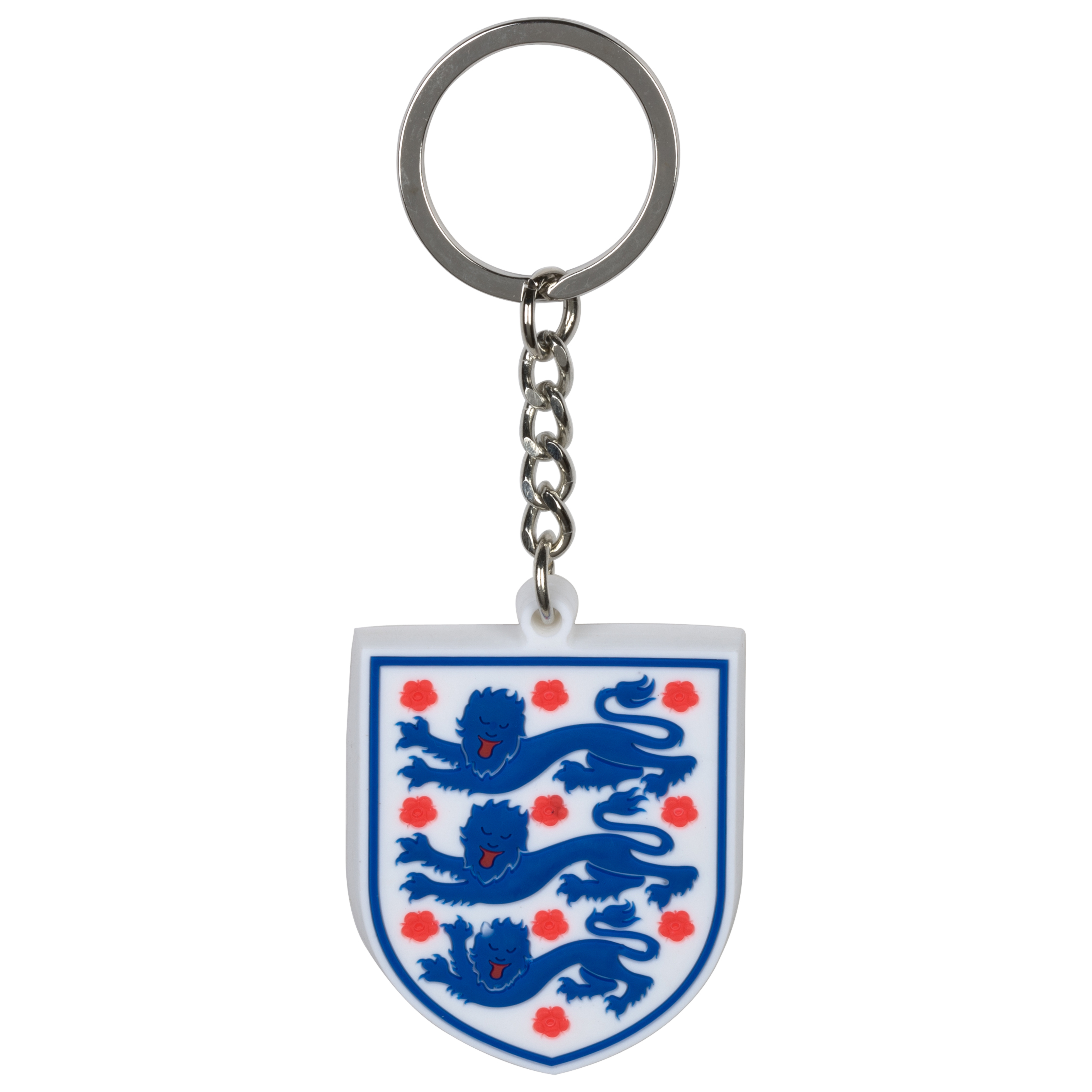 England FA PVC Crest Key Ring