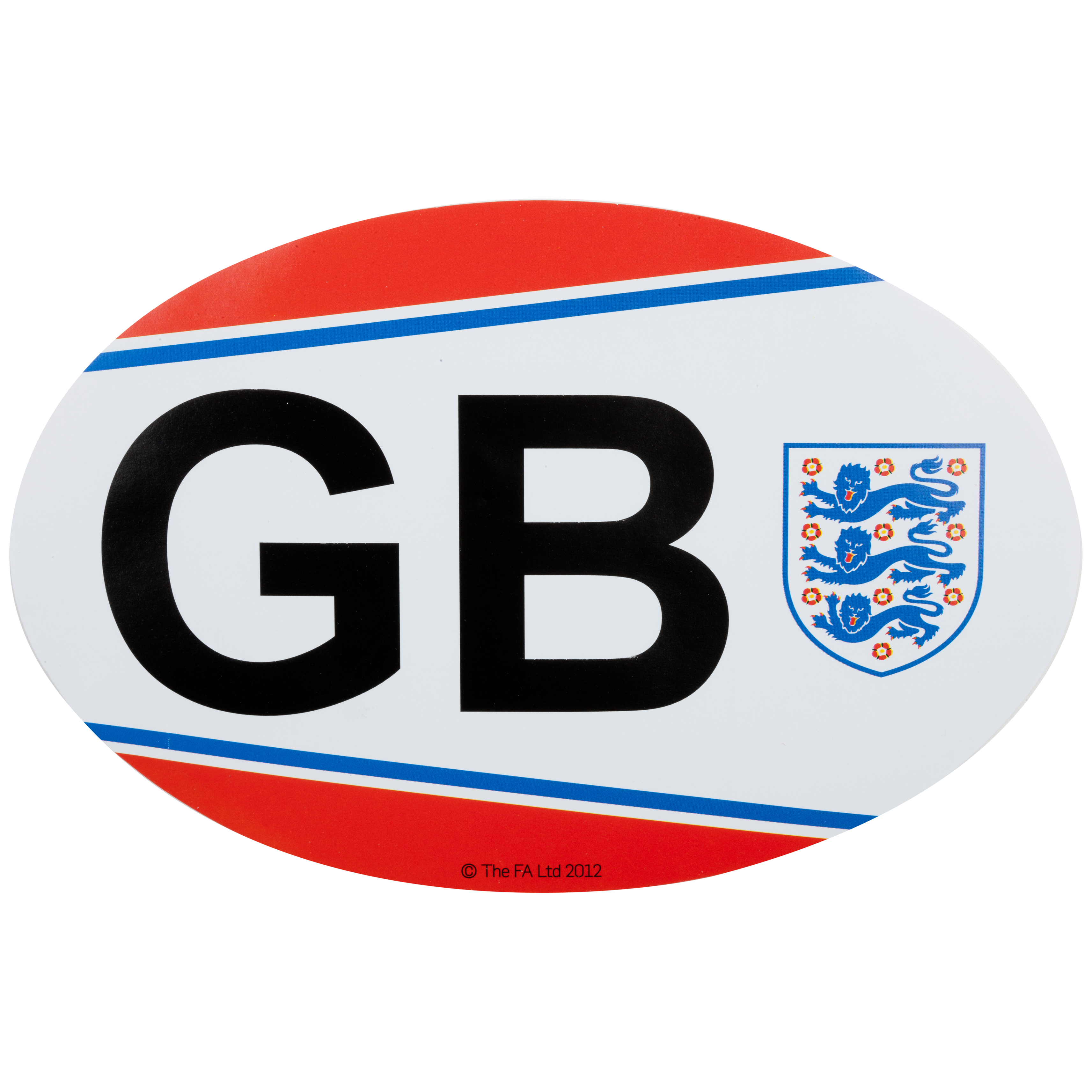 England FA GB Car Sticker