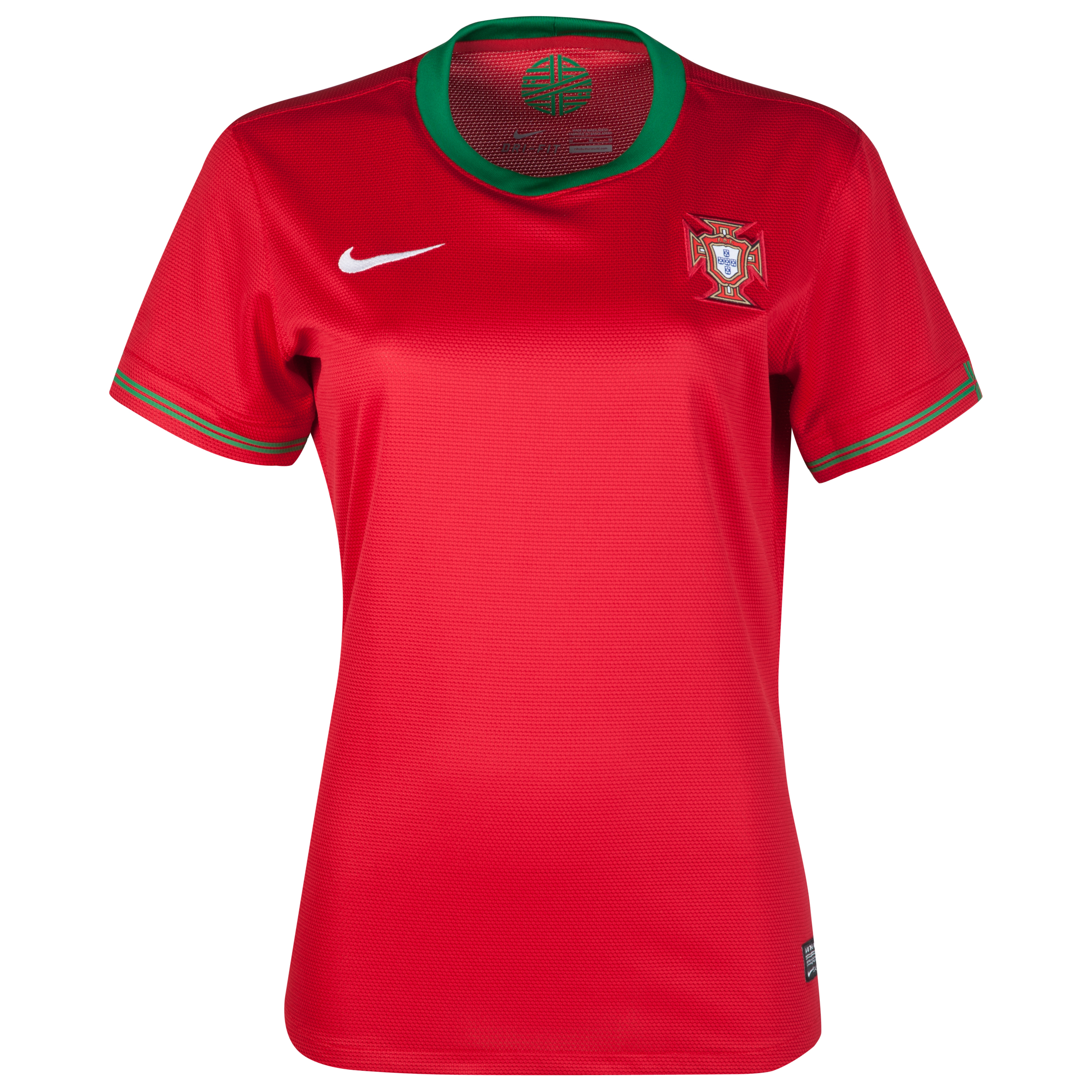 Portugal Home Shirt 2012/13 - Womens