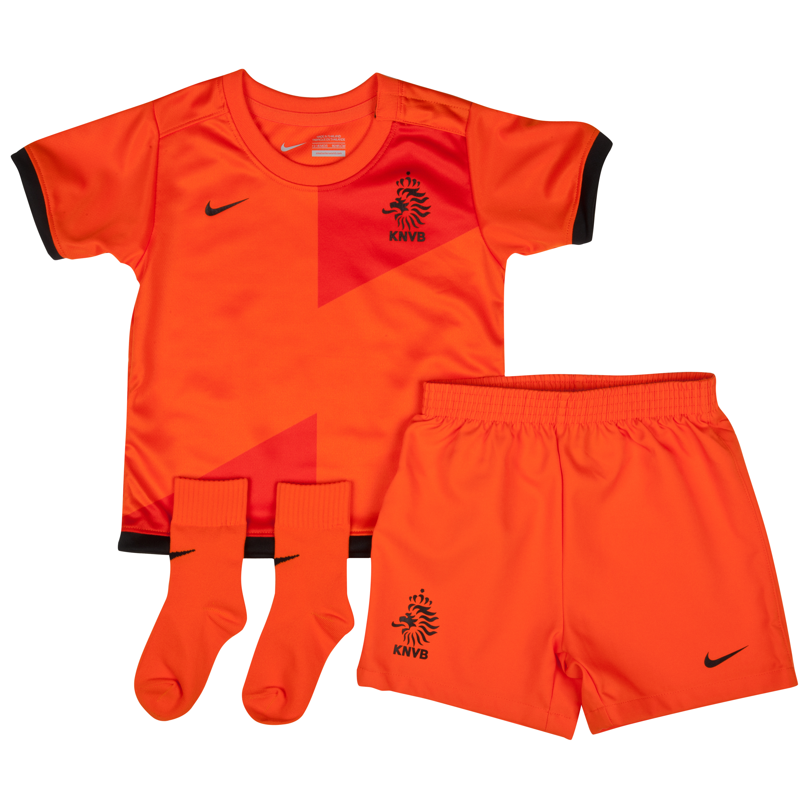 Netherlands Home Baby Kit 2012/13