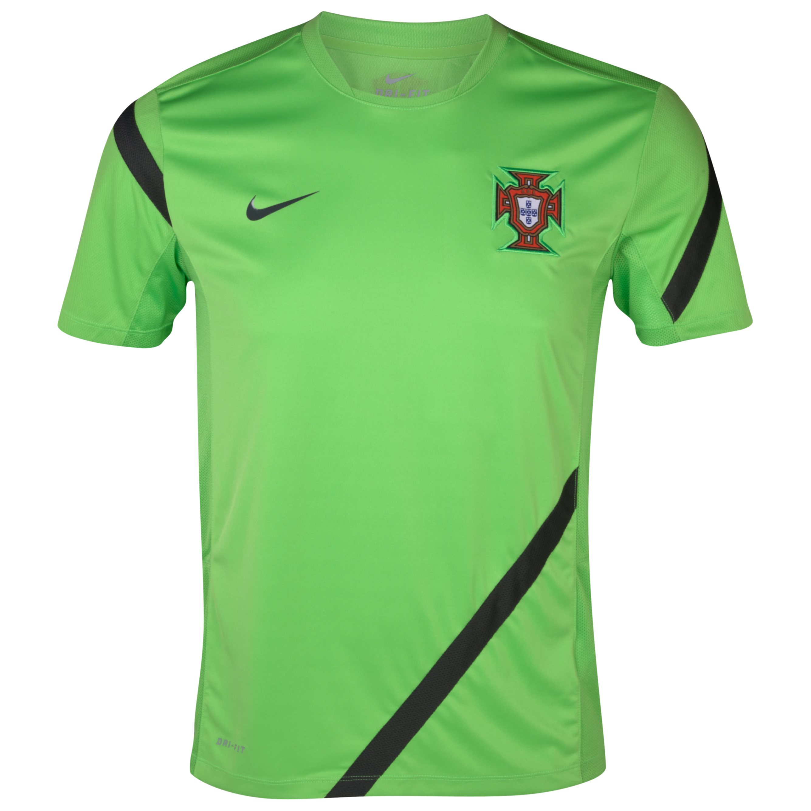Portugal Training Top - Action Green/Anthracite