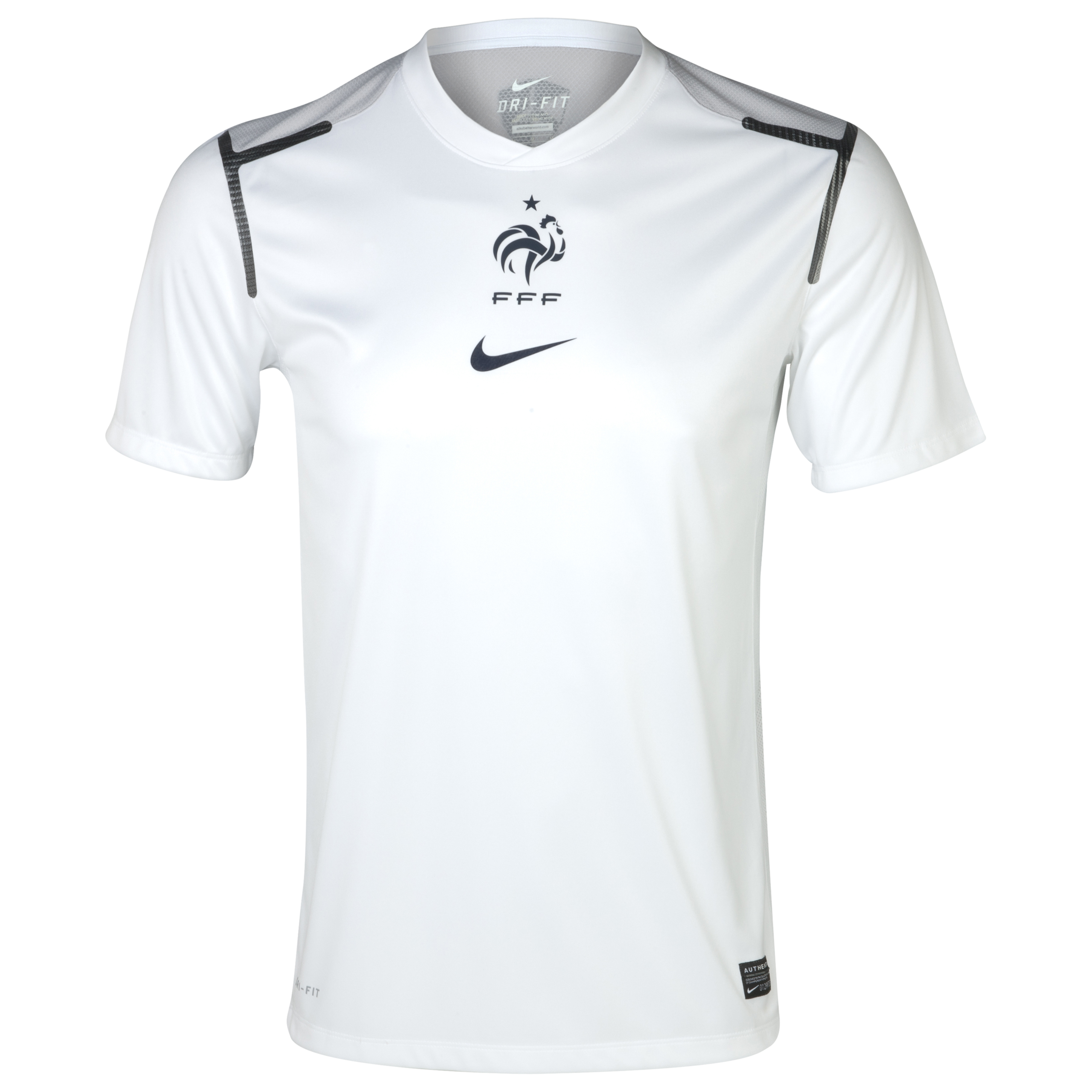 France Prematch Top - White/Neutral Grey/Meteor Blue