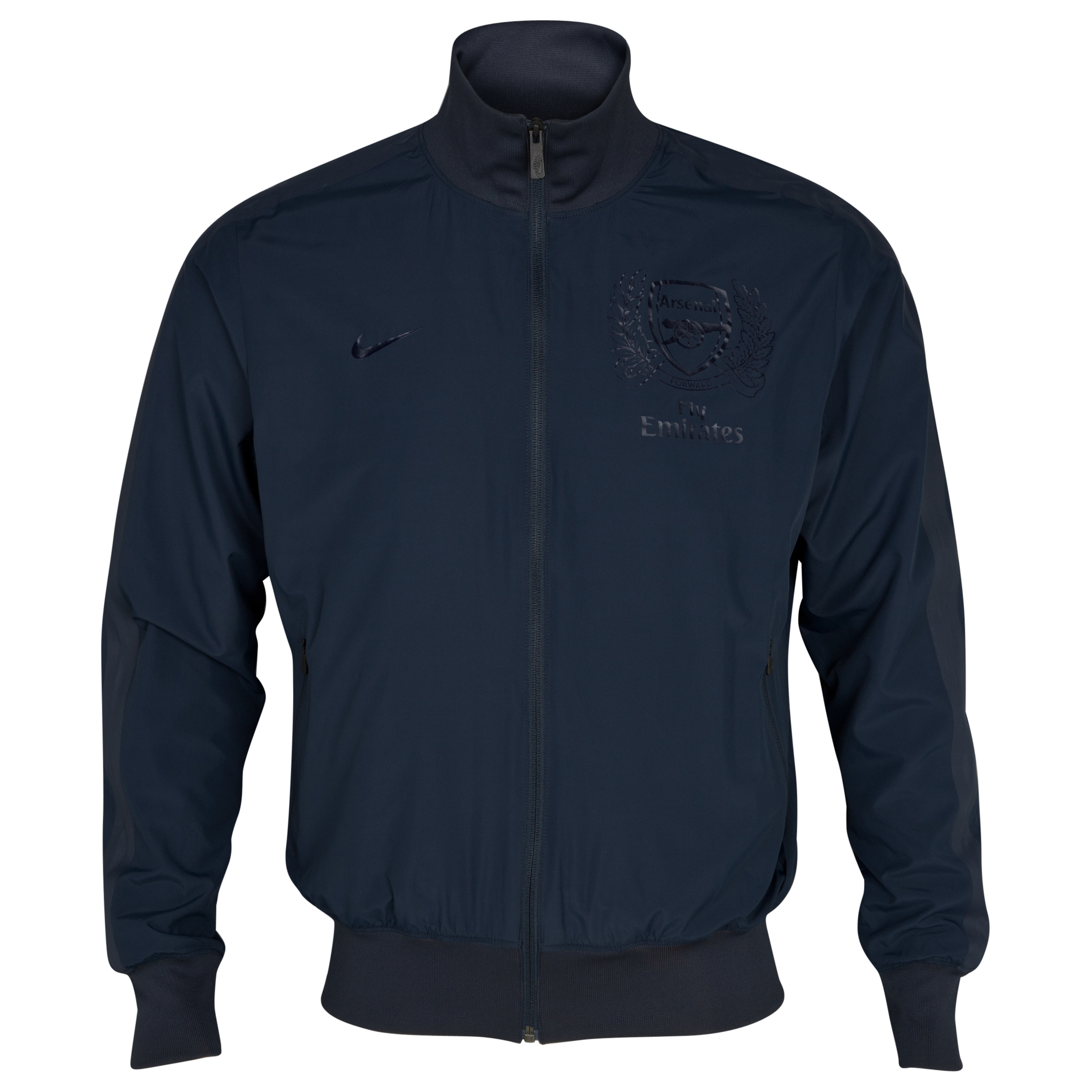 Arsenal Lightweight Woven Jacket - Dark Obsidian