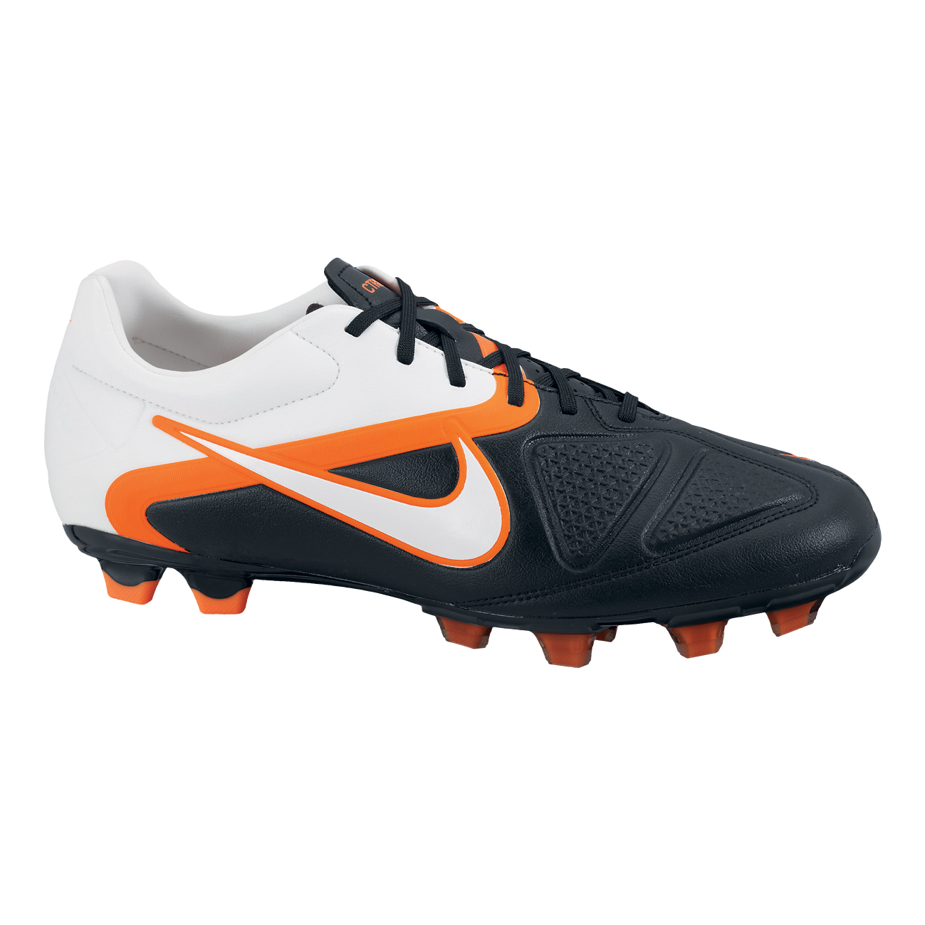 Nike CTR360 Trequartista II Firm Ground Football Boots - Black/White/Total Orange