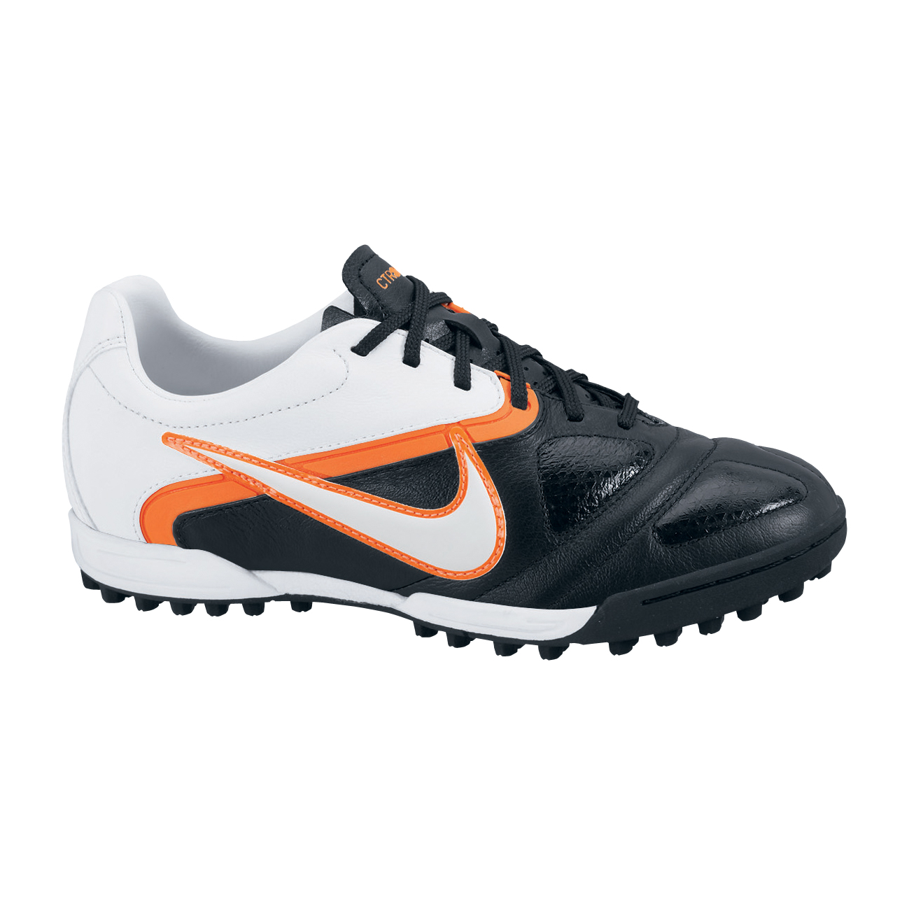 Nike CTR360 Libretto II Astroturf Trainers - Black/White/Total Orange - Kids