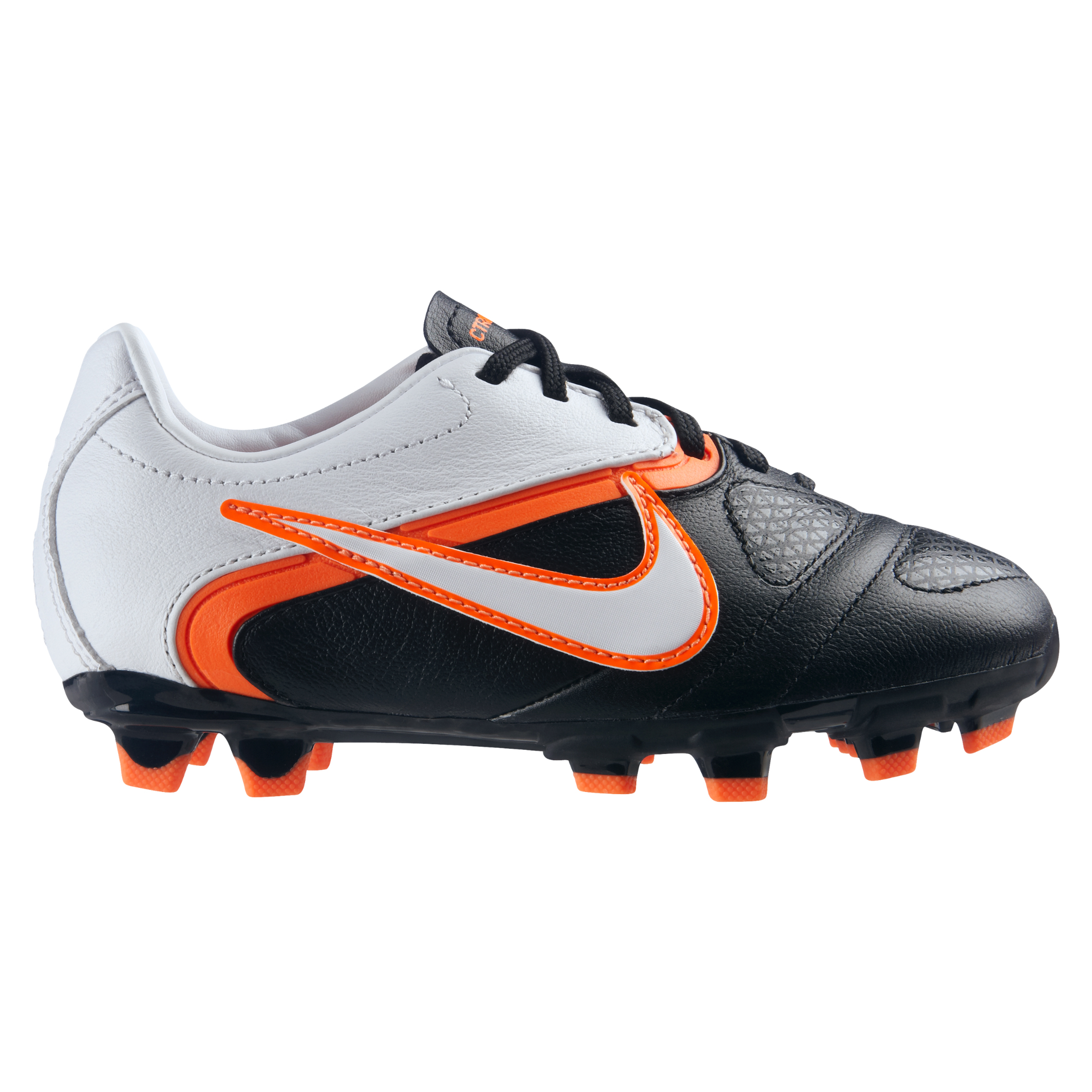 Nike CTR360 Libretto II Soft Ground Football Boots - Black/White/Total Orange - Kids
