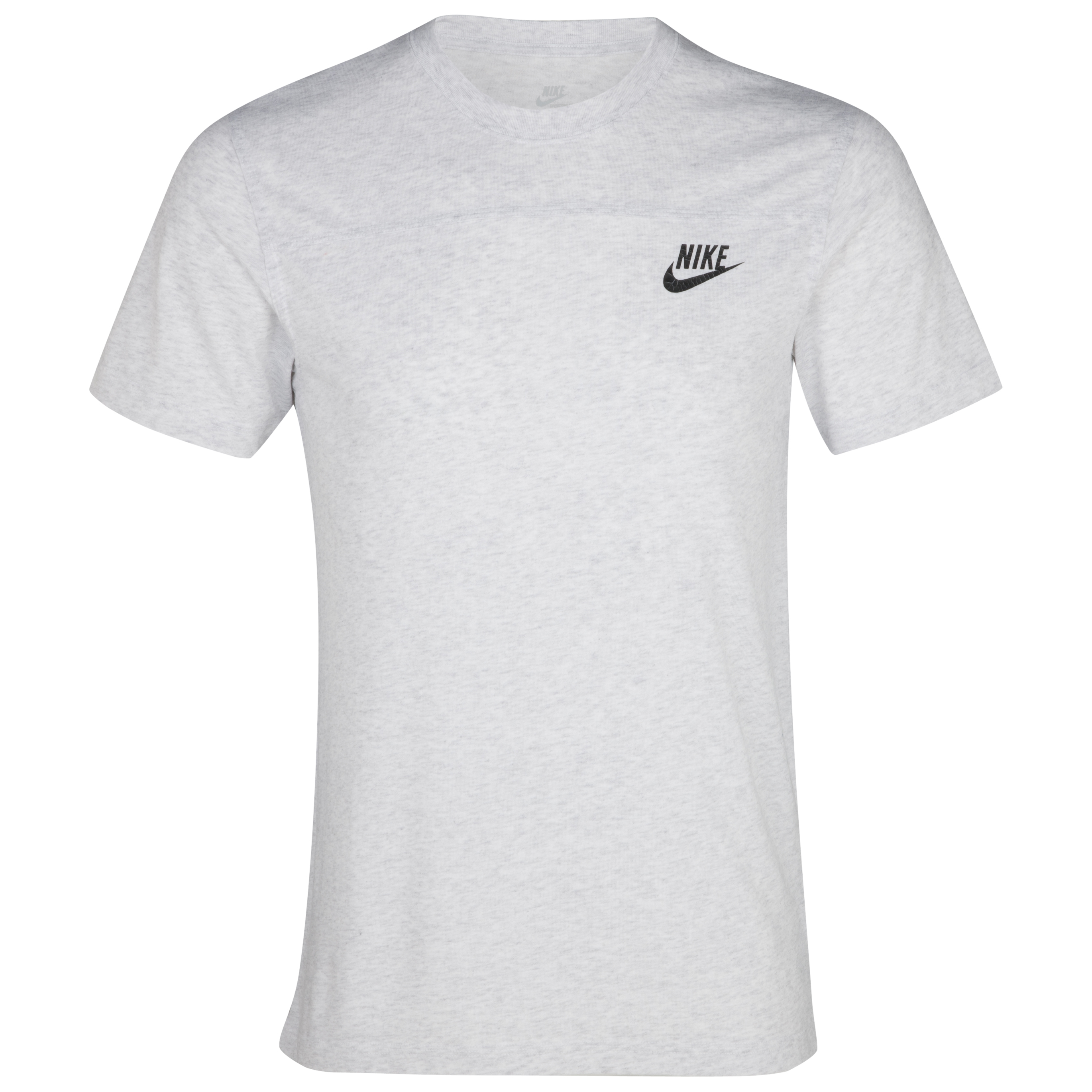 Nike Alumni T-Shirt - Birch Heather/Black