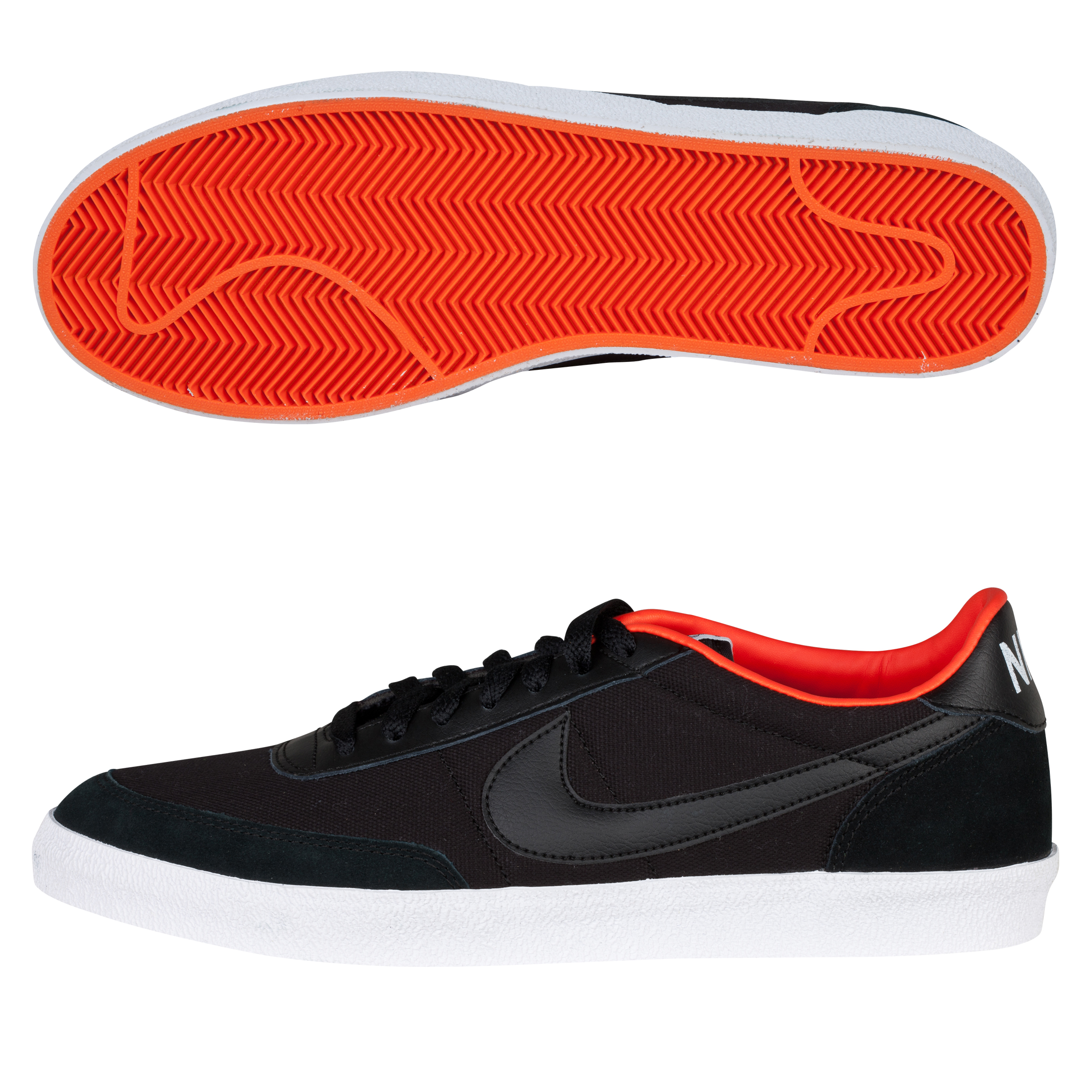 Nike Killshot 2 Trainers - Black/Black-Tm Orng-Sfty Orng
