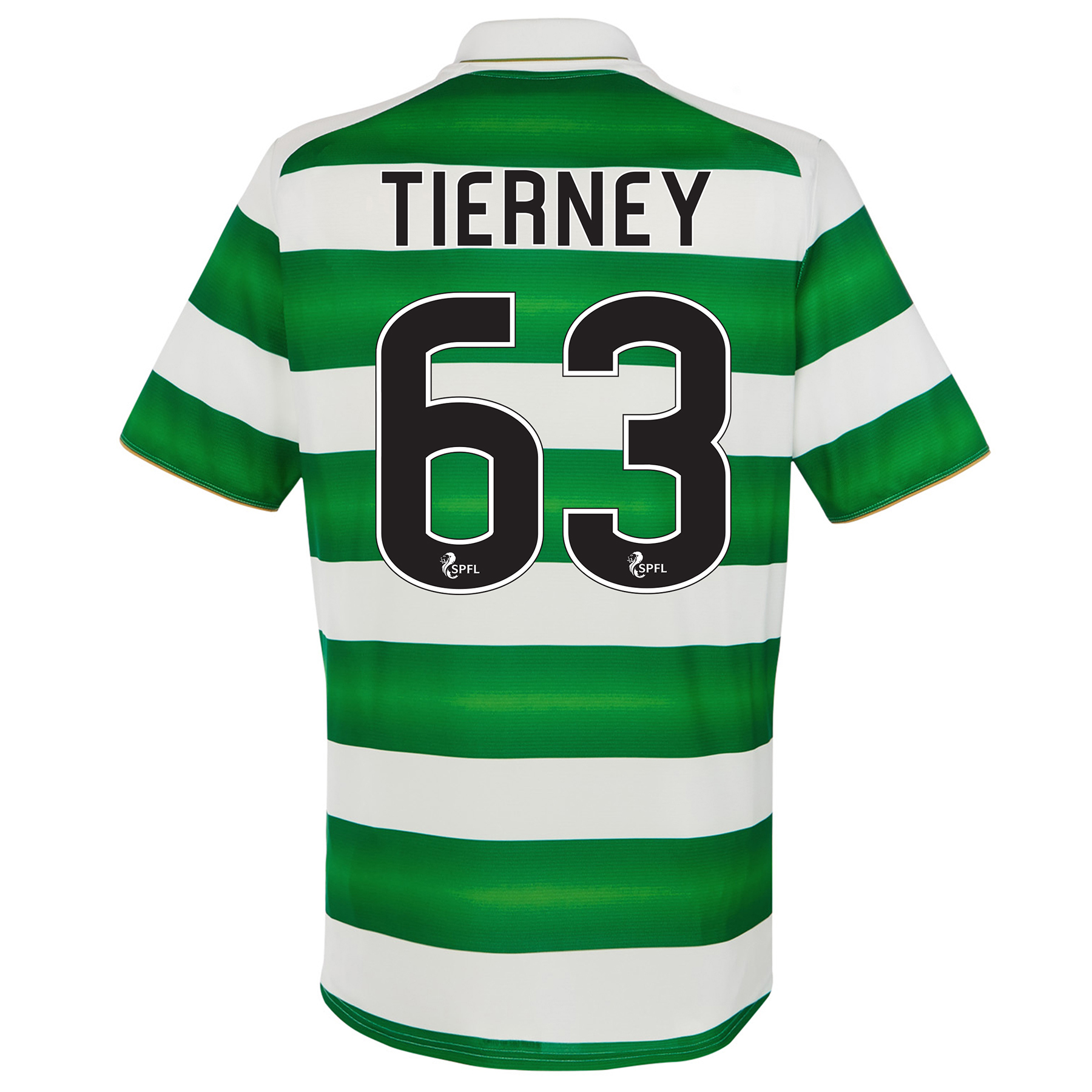 Celtic Home Kids Shirt 2016-17 with Tierney 63 printing