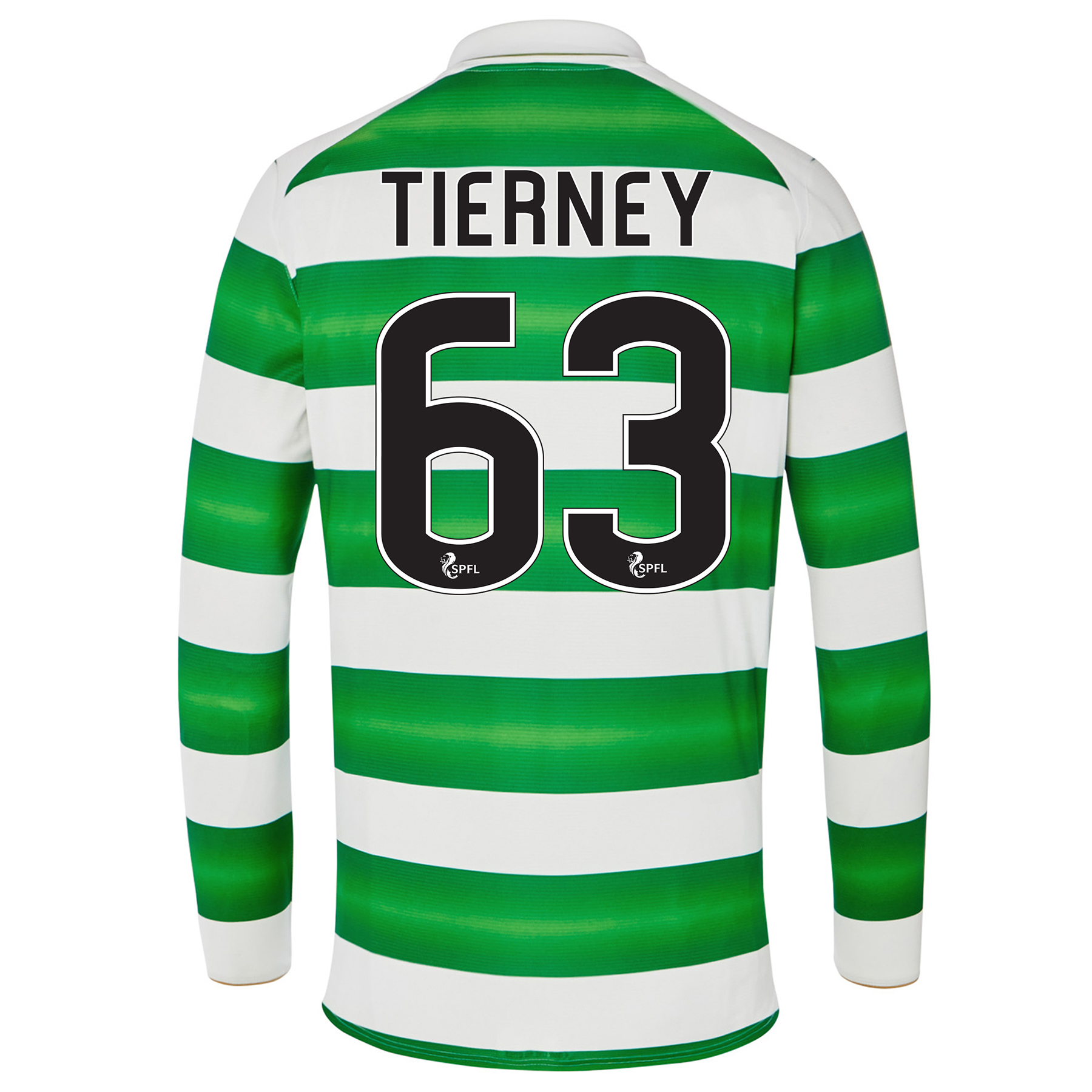 Celtic Home Kids Shirt 2016-17 - Long Sleeve with Tierney 63 printing