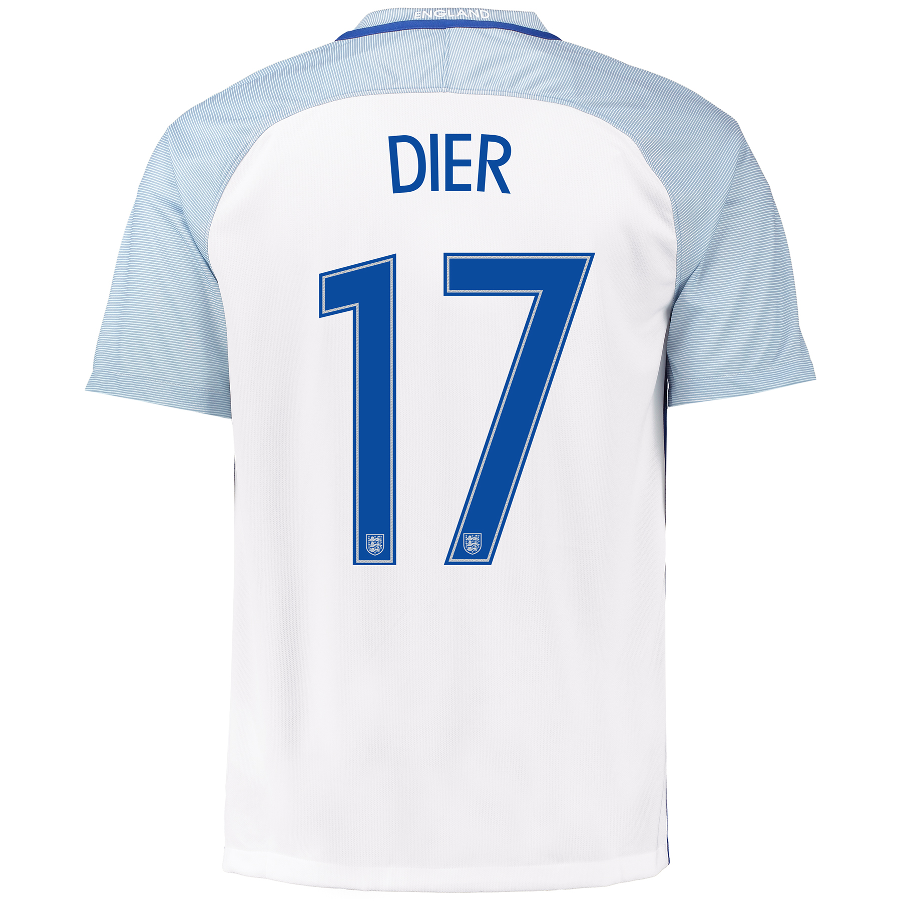 England Home Shirt 2016 with Dier 17 printing