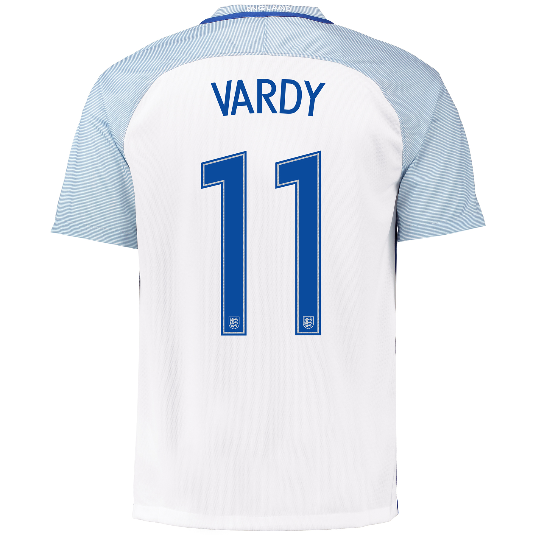 England Home Shirt 2016 with Vardy 11 printing