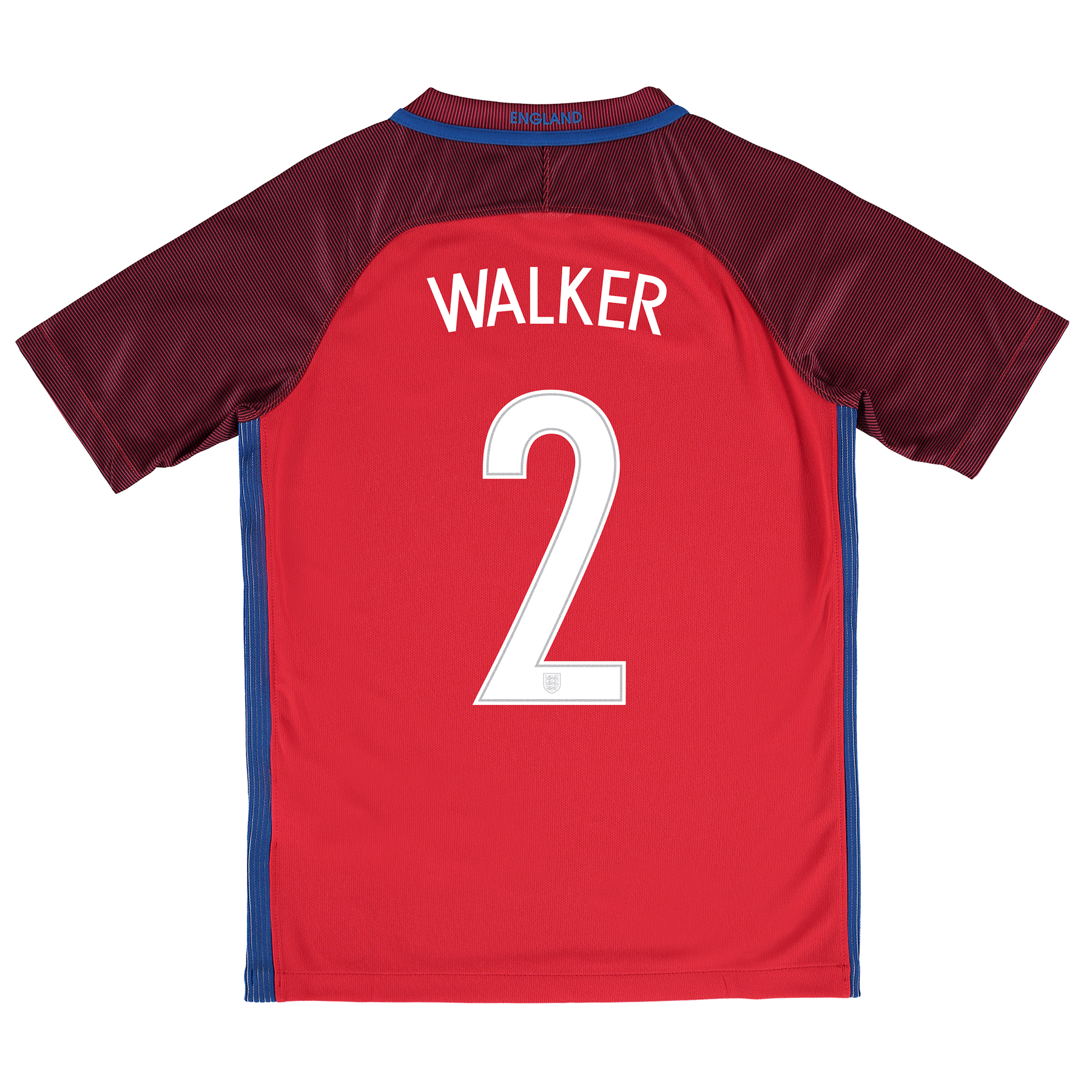 England Away Shirt 2016 - Kids with Walker 2 printing
