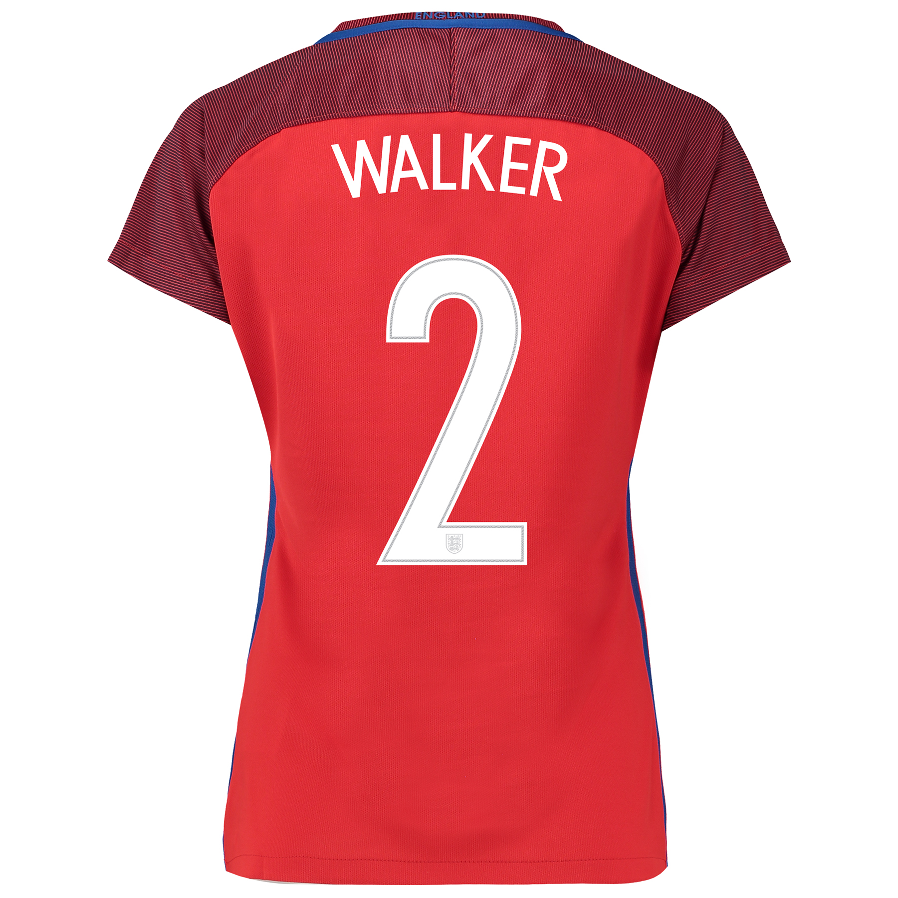England Away Shirt 2016 - Womens with Walker 2 printing