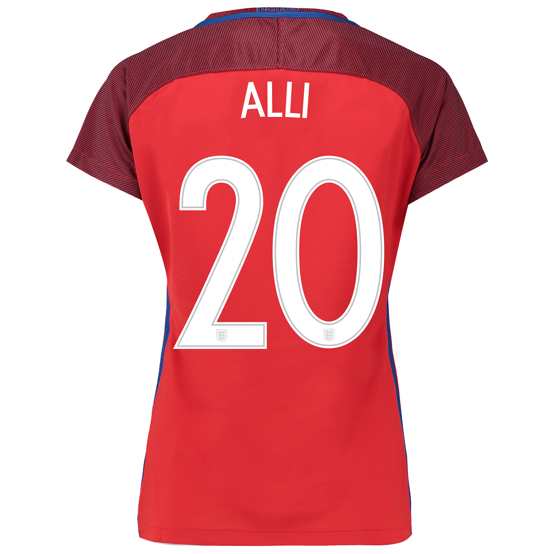 England Away Shirt 2016 - Womens with Alli 20 printing