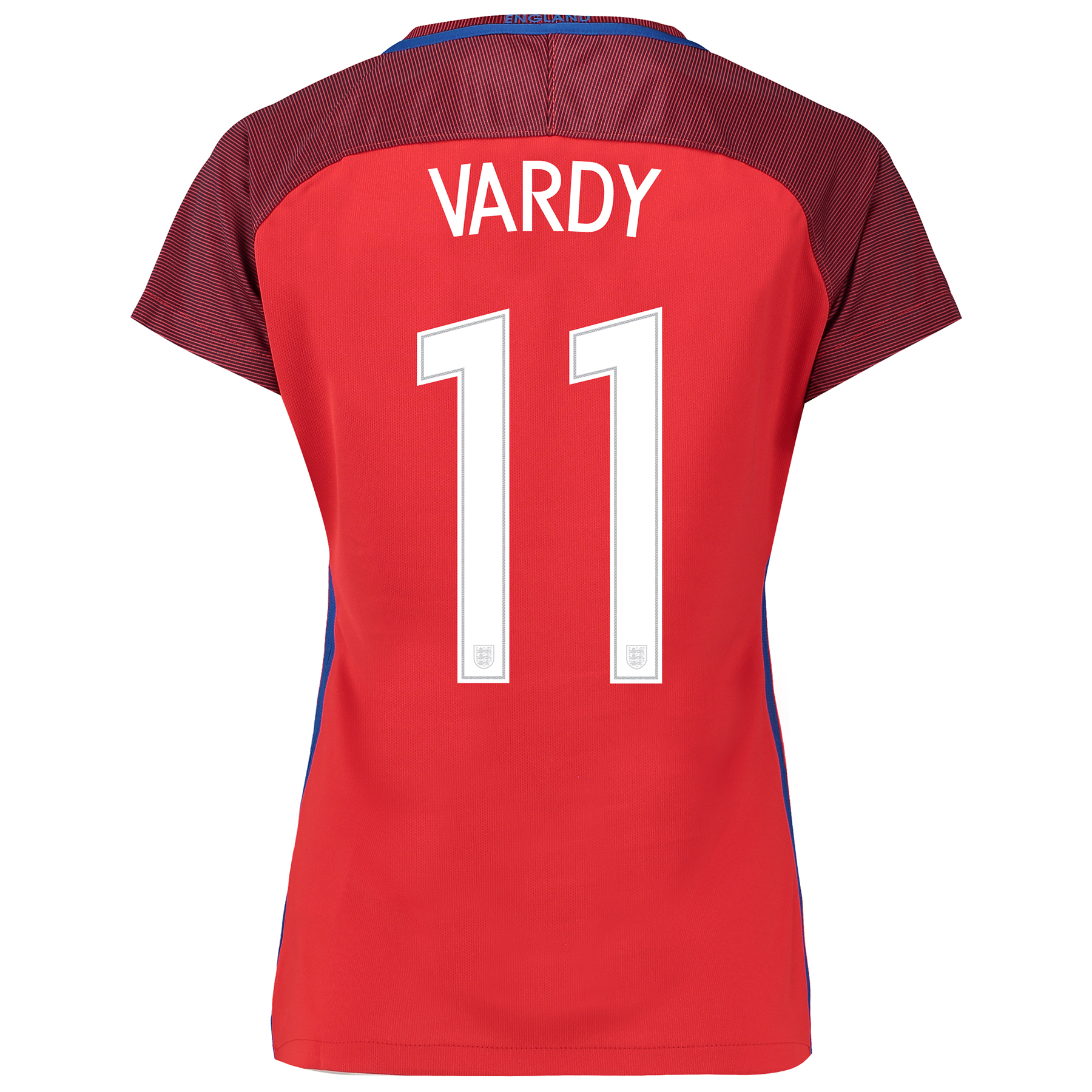 England Away Shirt 2016 - Womens with Vardy 11 printing