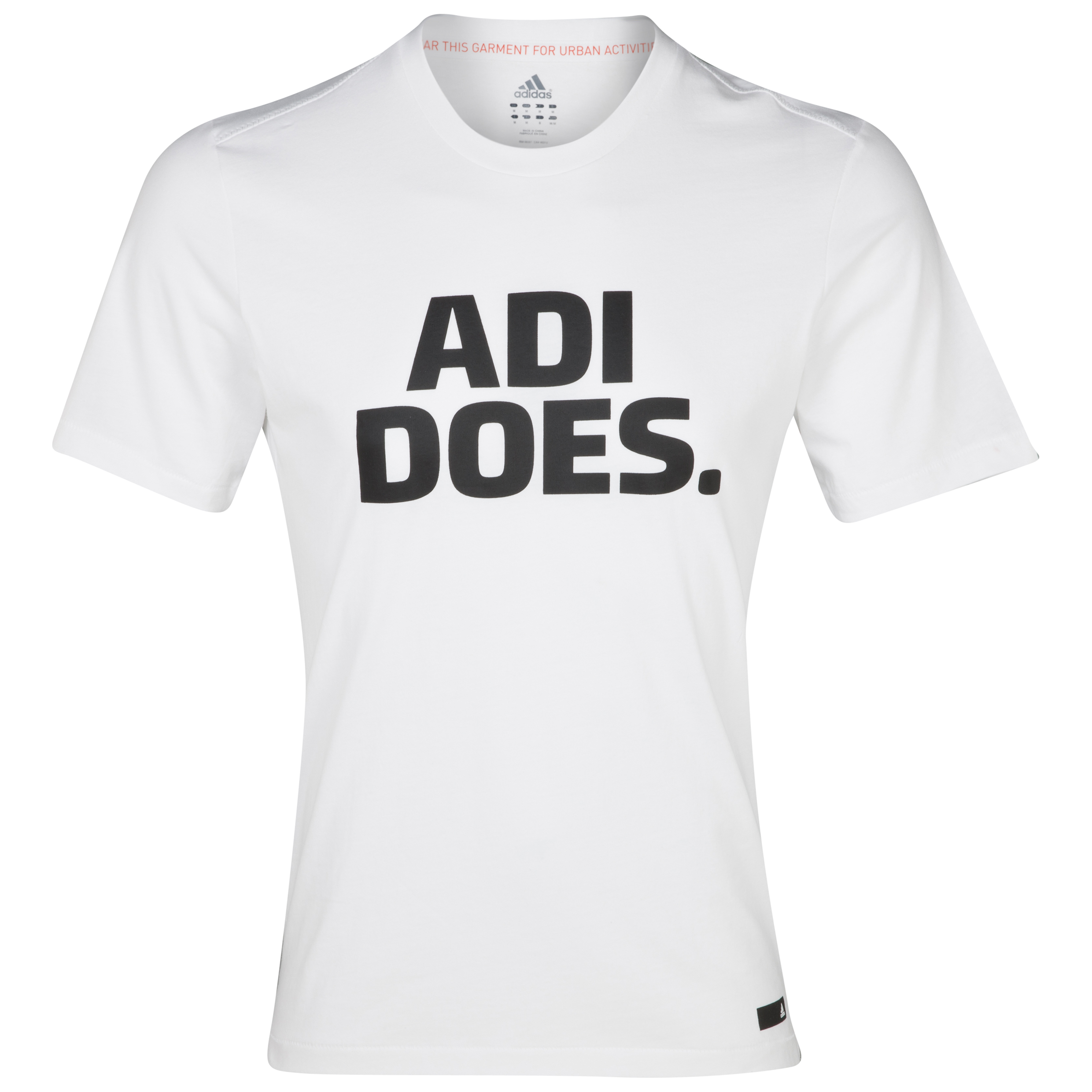 adidas adi Does Graphic T-Shirt - White