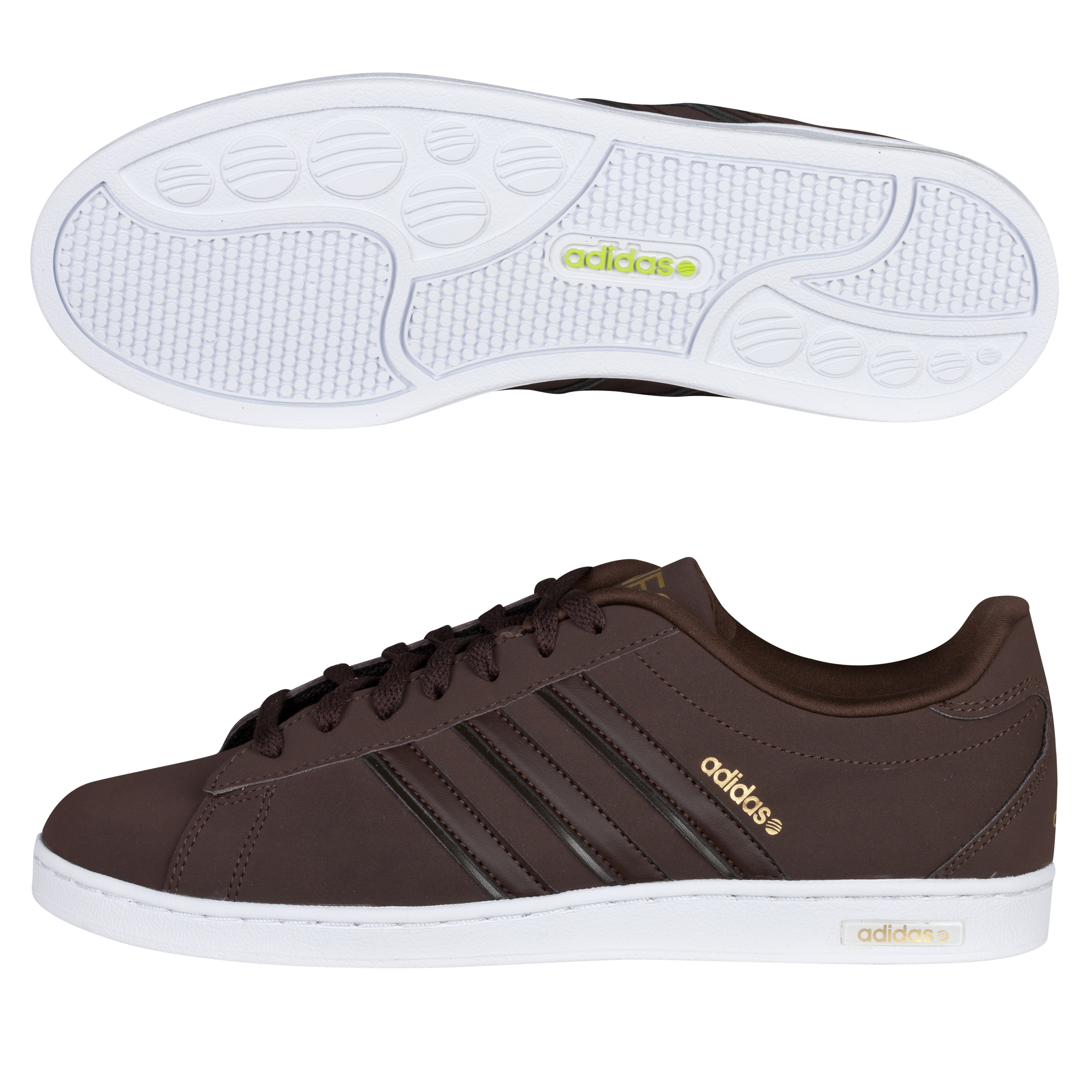 adidas Derby Trainers - Espresso / Espresso / Metallic Gold