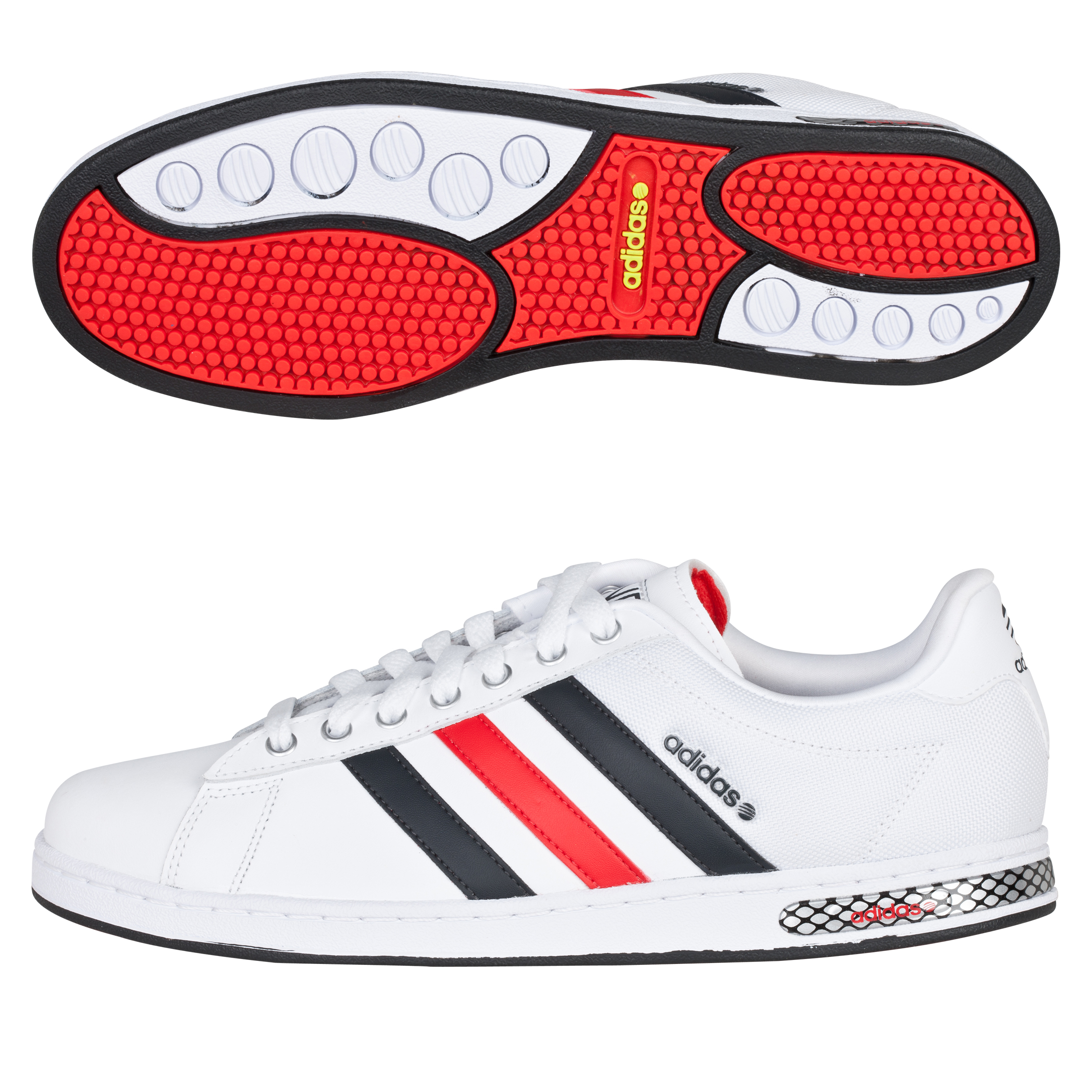 adidas Derby Trainers - Running White Ftw / Dark Indigo / Super Orange S12